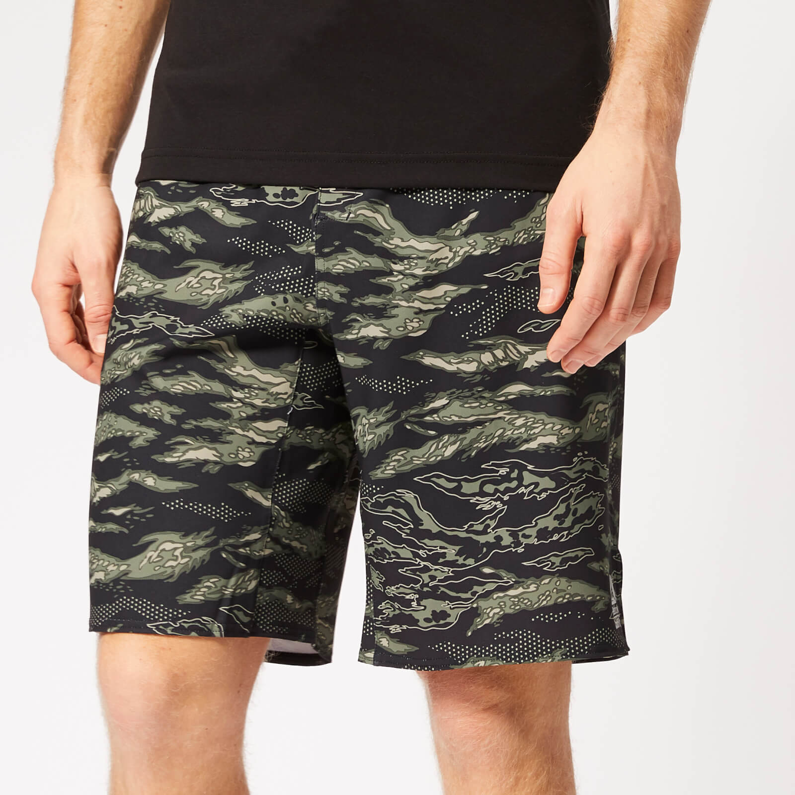 Reebok Men's Crossfit Epic Cordlock Shorts Camo
