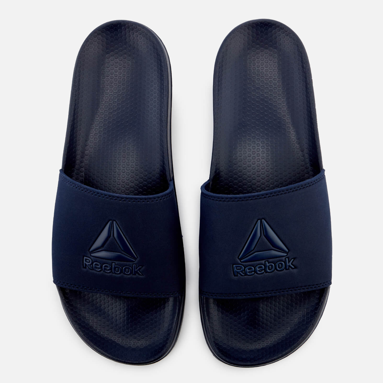 86fdca1b5 Reebok Men s Fulgere Slide Sandals - Navy Sports   Leisure