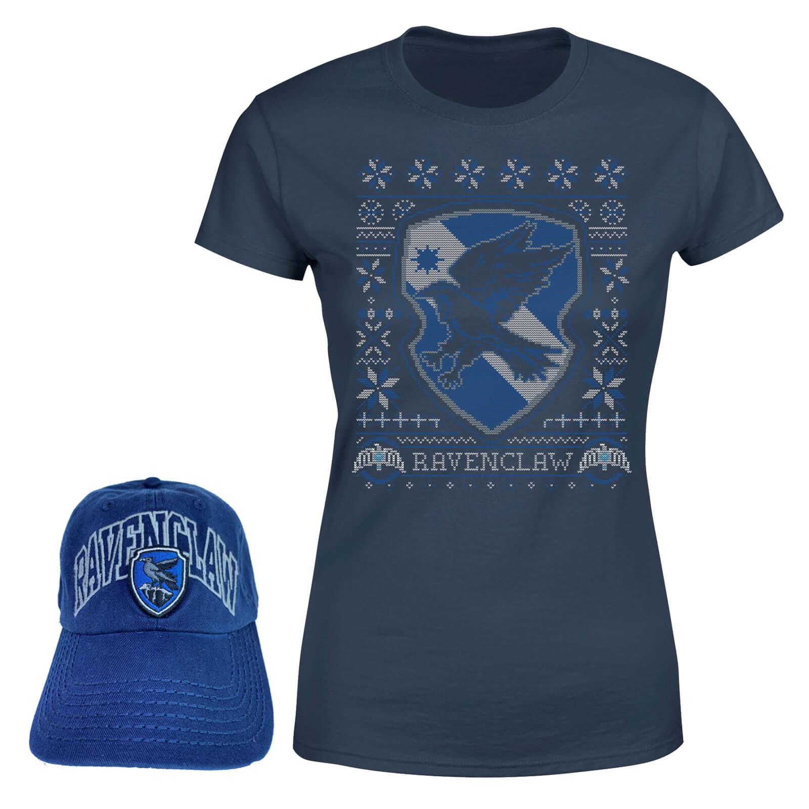 d782da7d2ec Harry Potter Ravenclaw T-Shirt and Cap Bundle - Navy | IWOOT