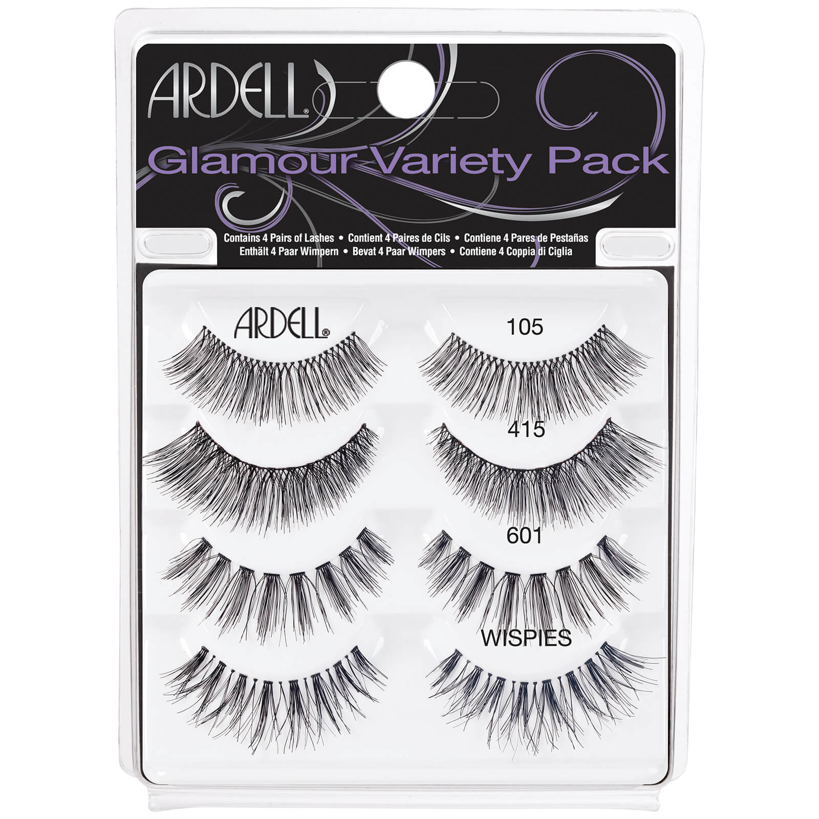 e5f0daf763a Ardell False Lash Glamour Variety Pack | Free US Shipping | lookfantastic
