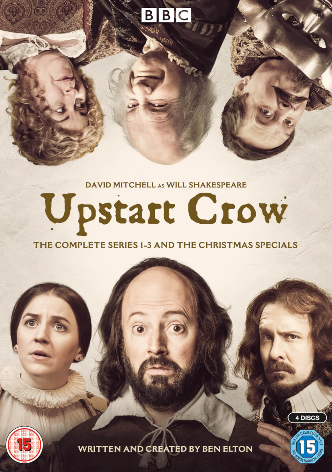 Upstart Crow - The Complete Series 1-3 And The Christmas Specials