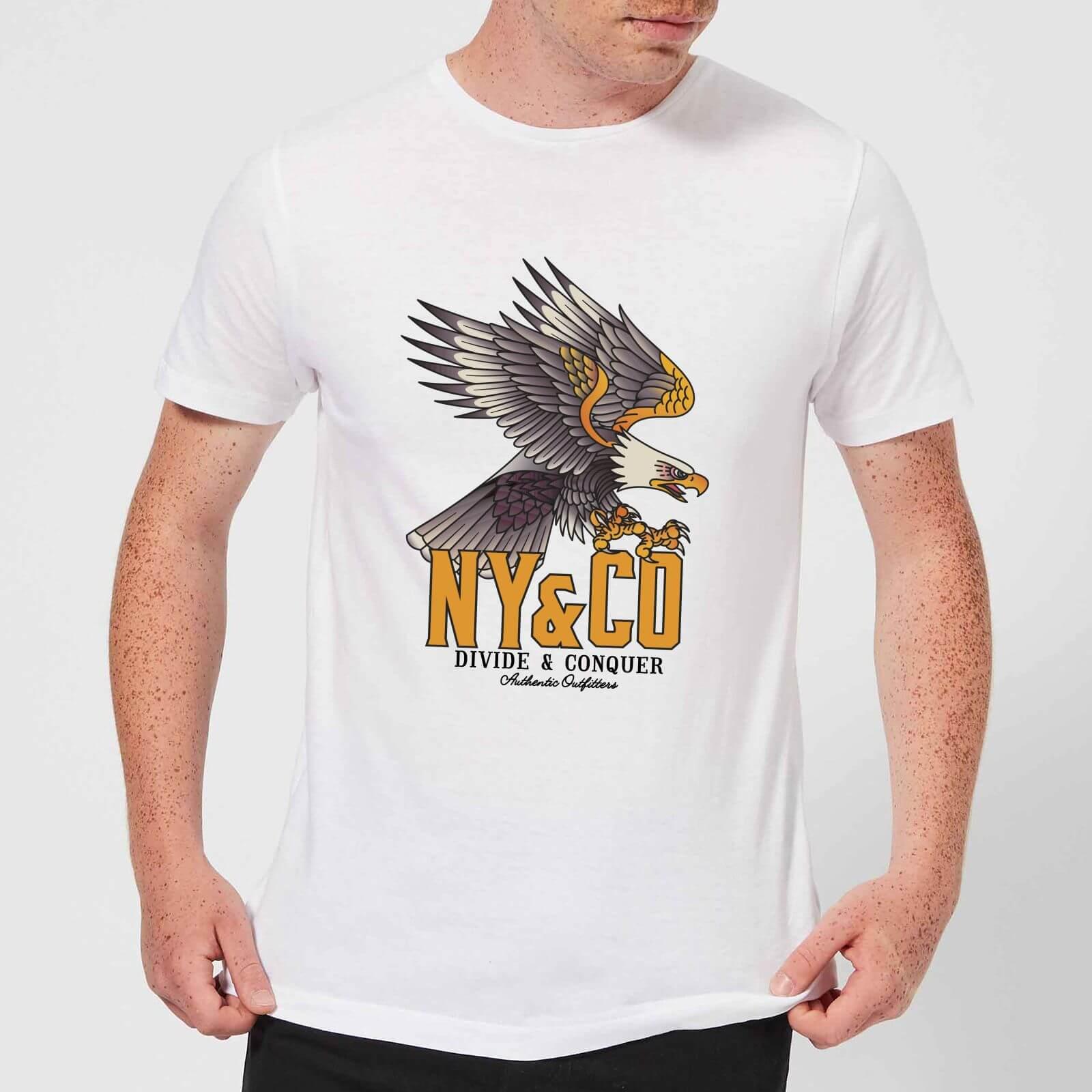 Eagle Tattoo Mens T Shirt White