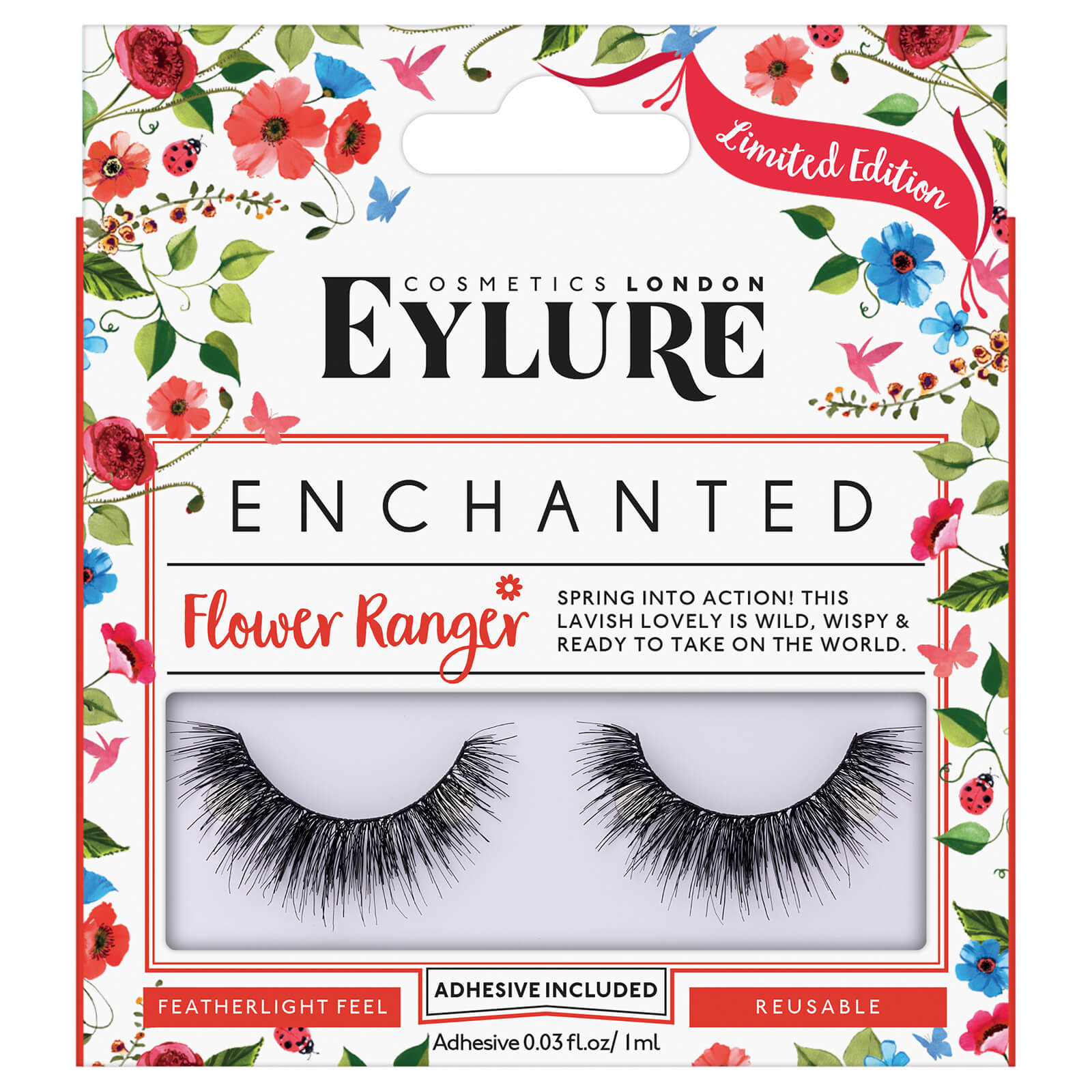 6207427ffef Eylure Enchanted Flower Ranger Lashes | Free Shipping | Lookfantastic