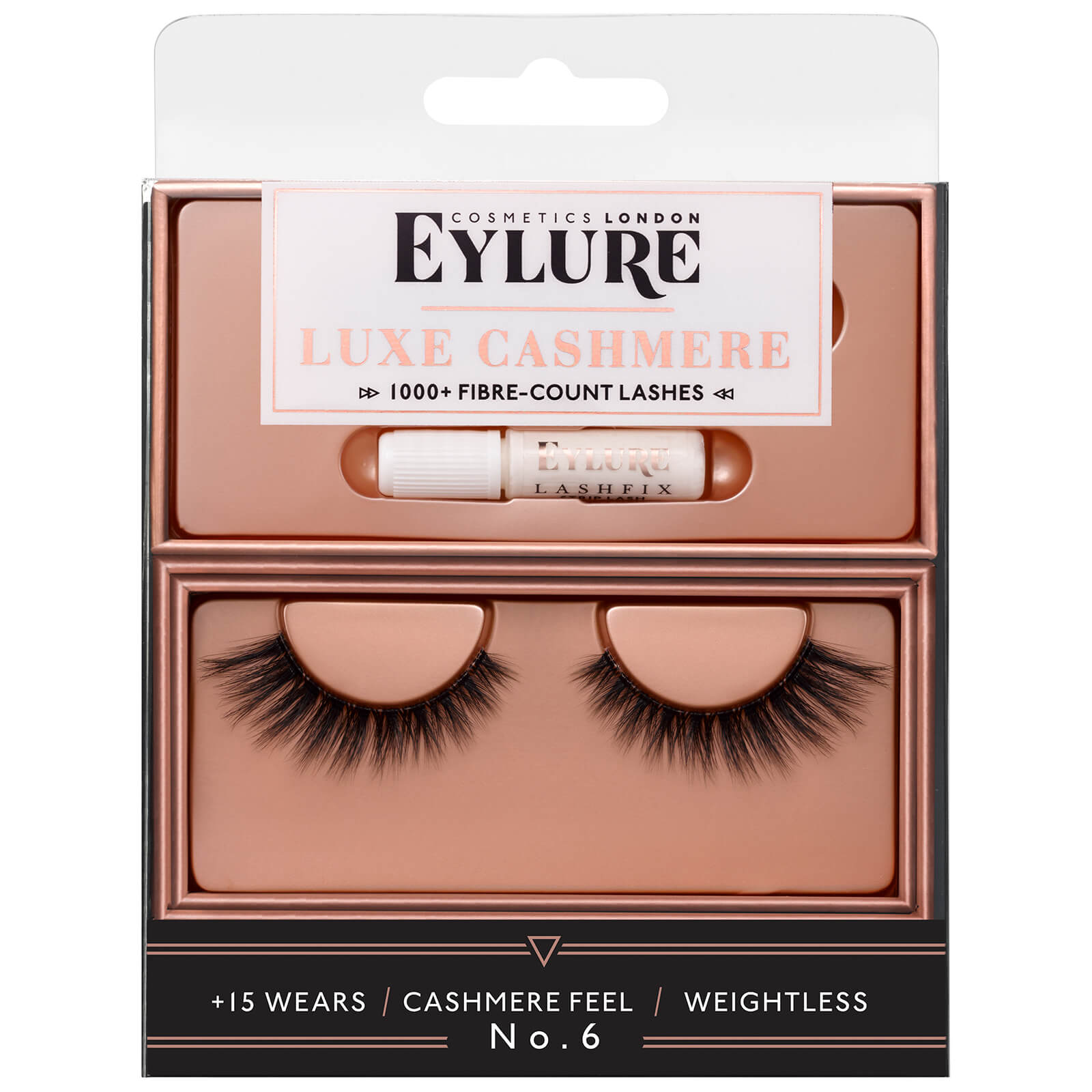 2e4b4c4f3c9 Eylure Luxe Cashmere No.6 Lashes | Free Shipping | Lookfantastic