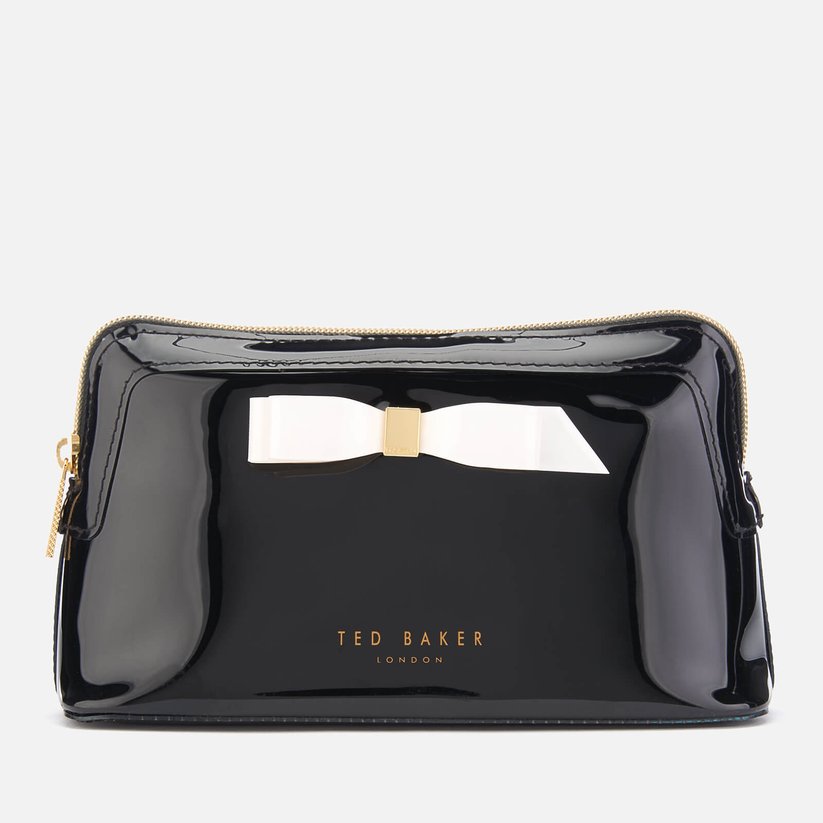 0182e3f534 Ted Baker Women's Cahira Bow Makeup Bag - Black Womens Accessories    TheHut.com