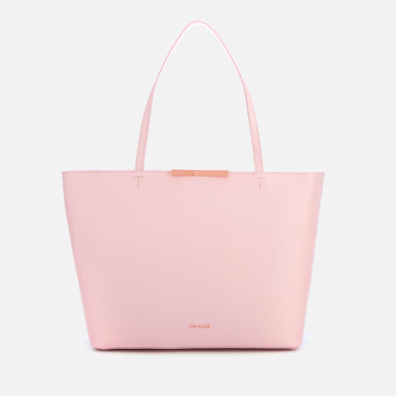200d35c07fff Ted Baker Women s Jackki Faceted Bow Mini Bark Shopper Bag - Light Pink  Womens Accessories