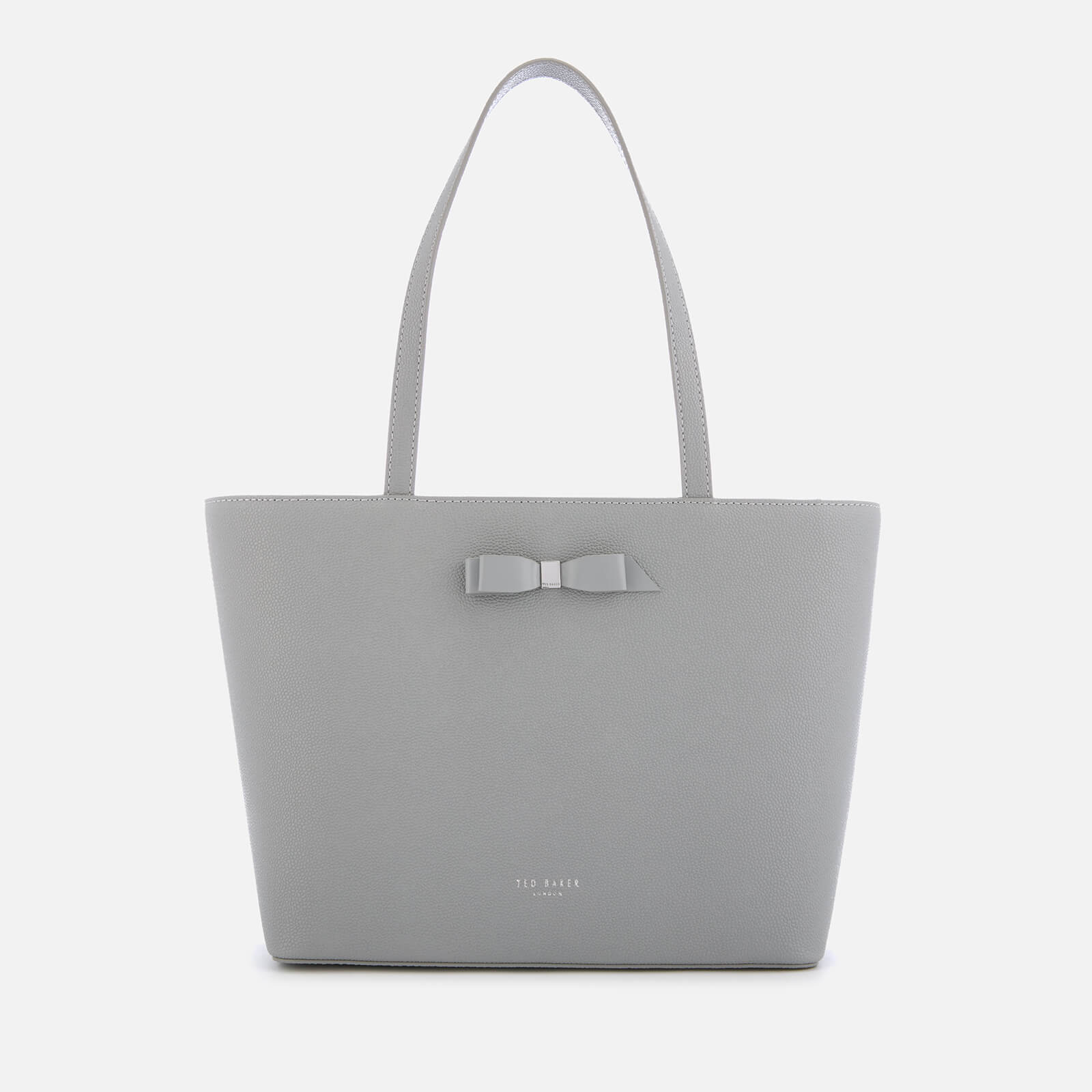 6ab110a4a Ted Baker Women s Jjesica Bow Detail Shopper Bag - Grey Womens Accessories