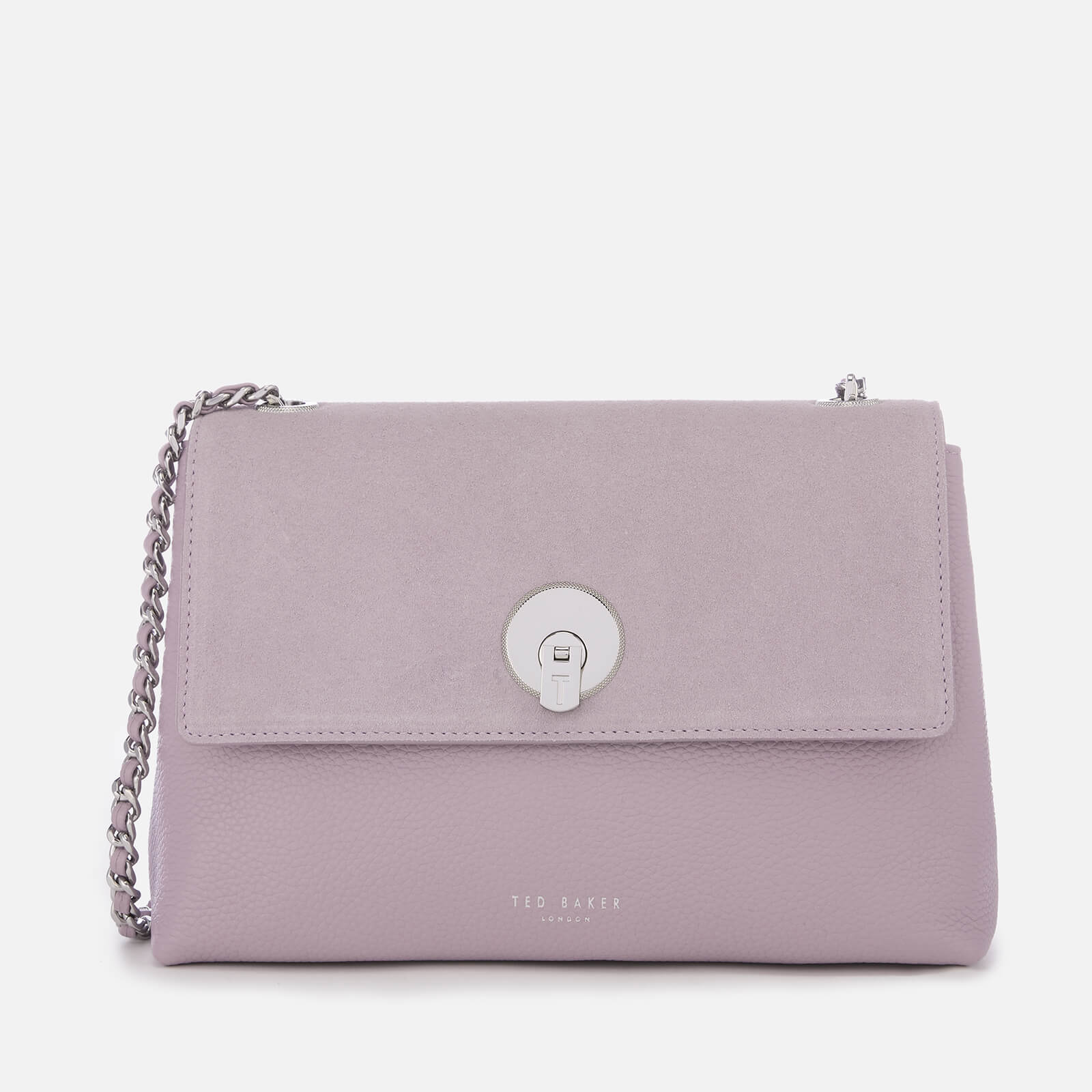 e410539f4 Ted Baker Women s Sylvana Circle Lock Cross Body Bag - Light Purple Womens  Accessories
