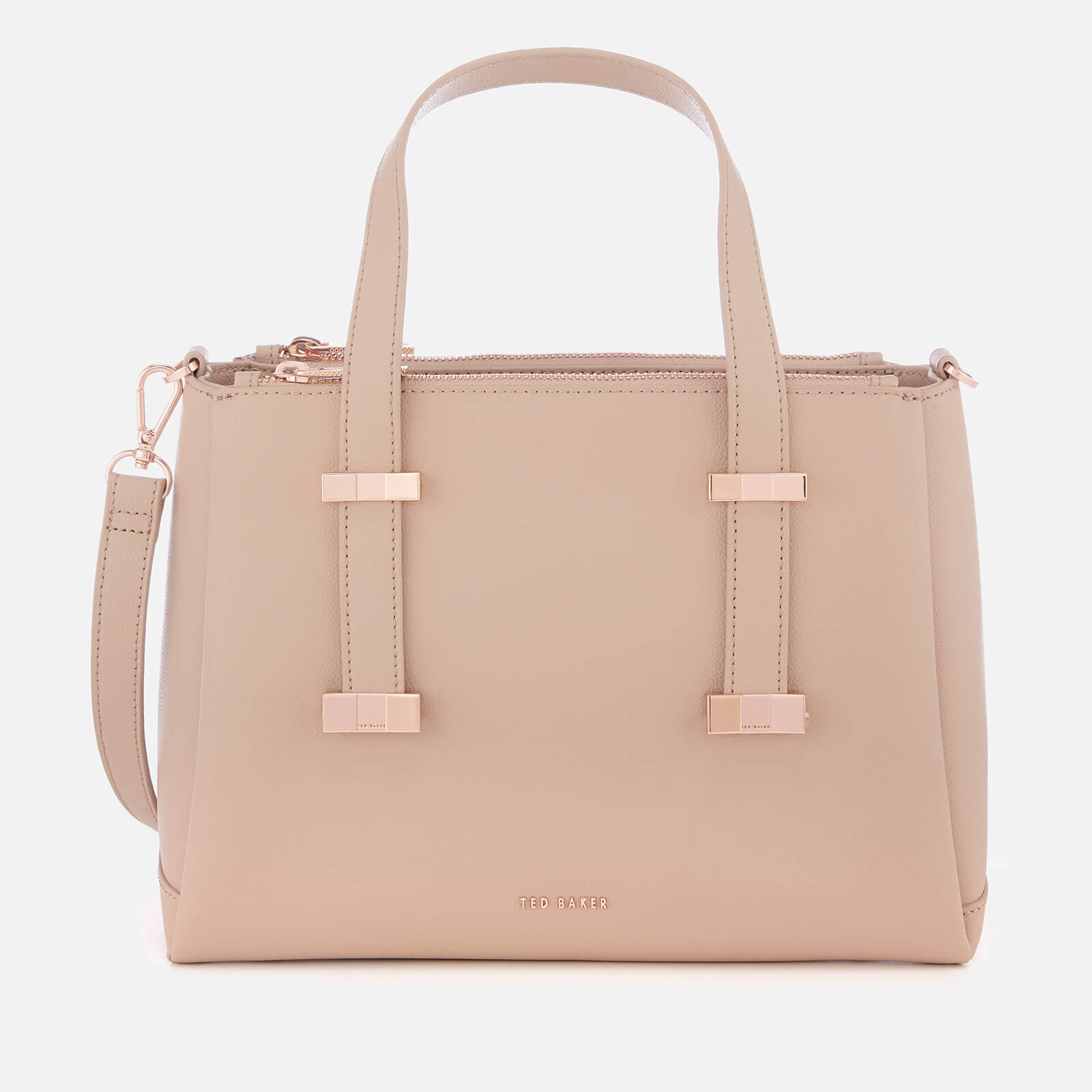 7e2cbd6d5da Ted Baker Women's Julieet Bow Adjustable Handle Small Tote Bag - Taupe