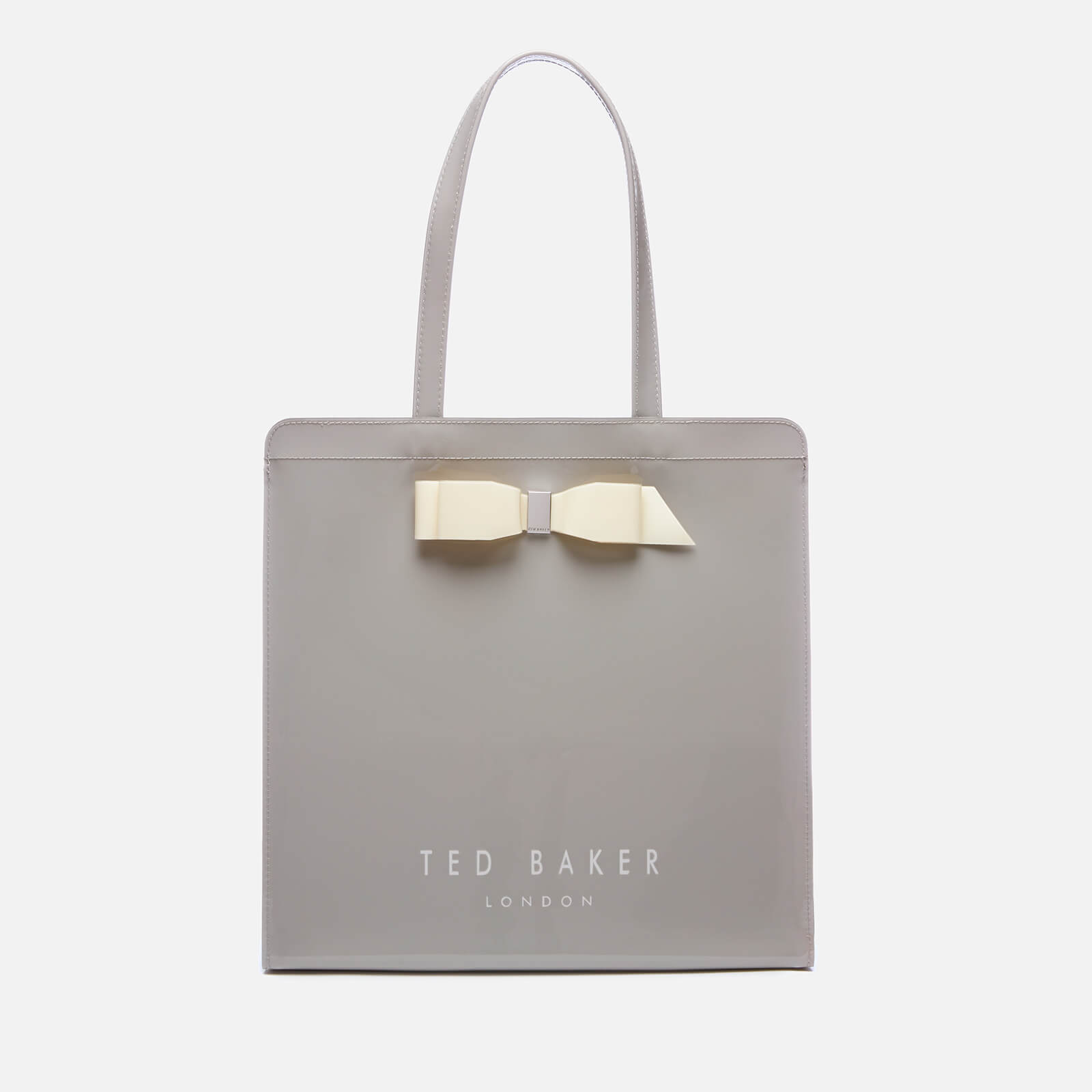 4fc71a755 Ted Baker Women s Almacon Bow Detail Large Icon Bag - Grey Womens  Accessories