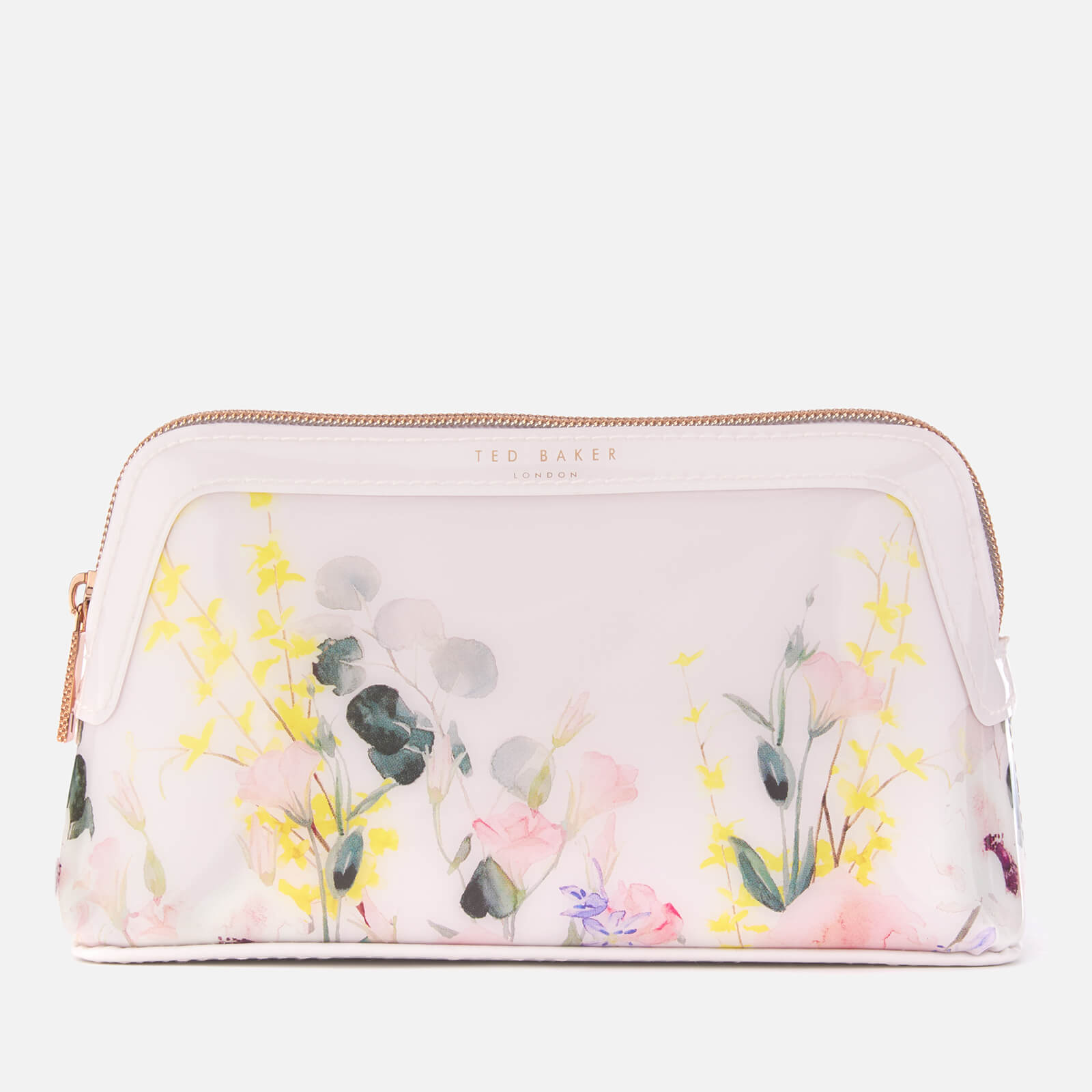 9a7fd48161 Ted Baker Women's Teegan Bow Detail Small Make-Up Bag - Nude/Pink Womens  Accessories | TheHut.com