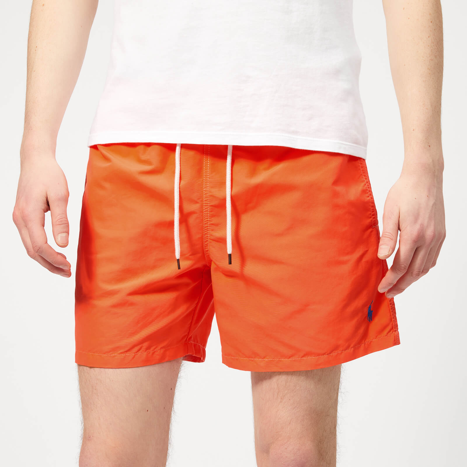 Orange Polo Swim Traveller Shorts Lauren Ralph Men's Flare vNwmn80yO