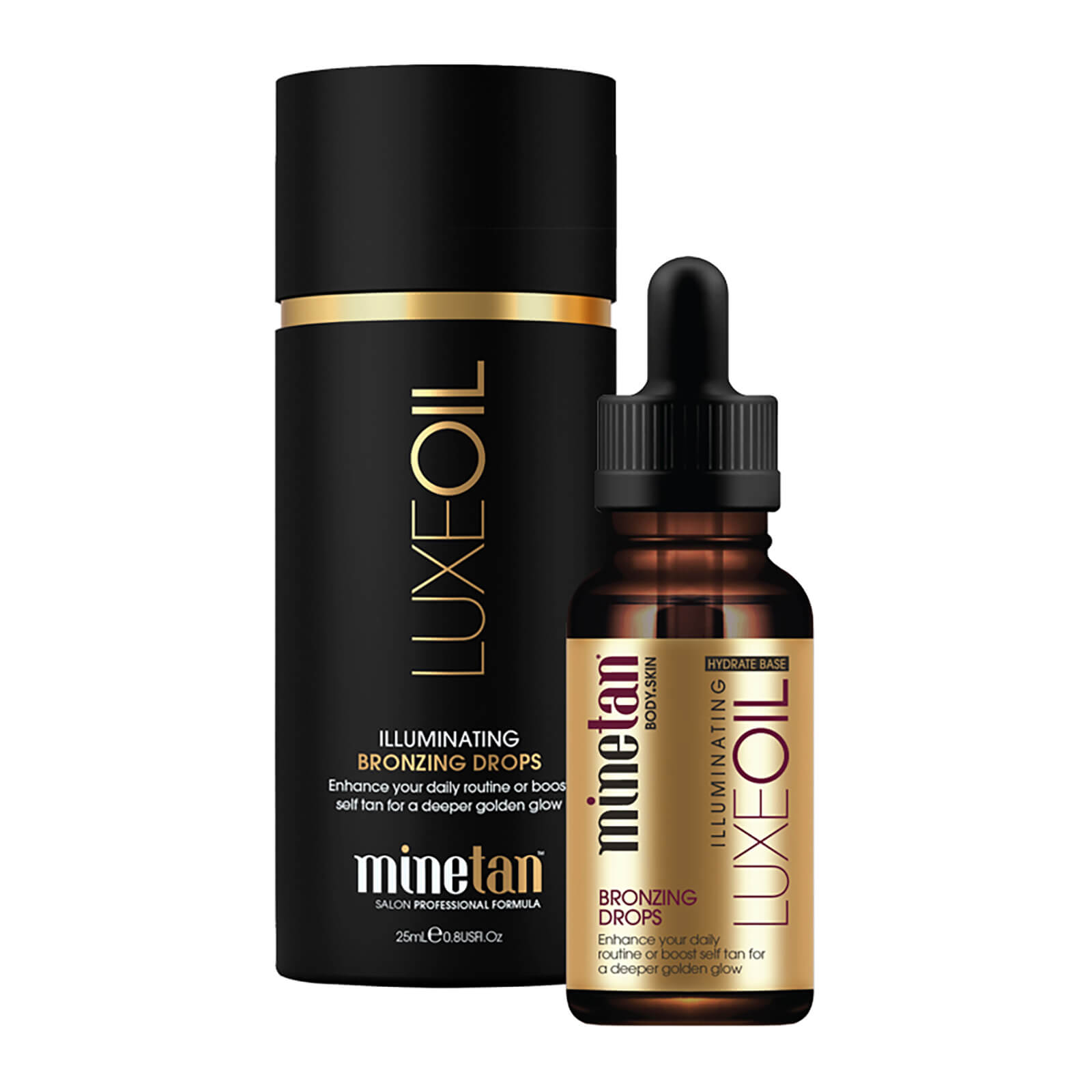 f00027c05f0b6 MineTan Luxe Oil Illuminating Tan Drops 25ml. Description