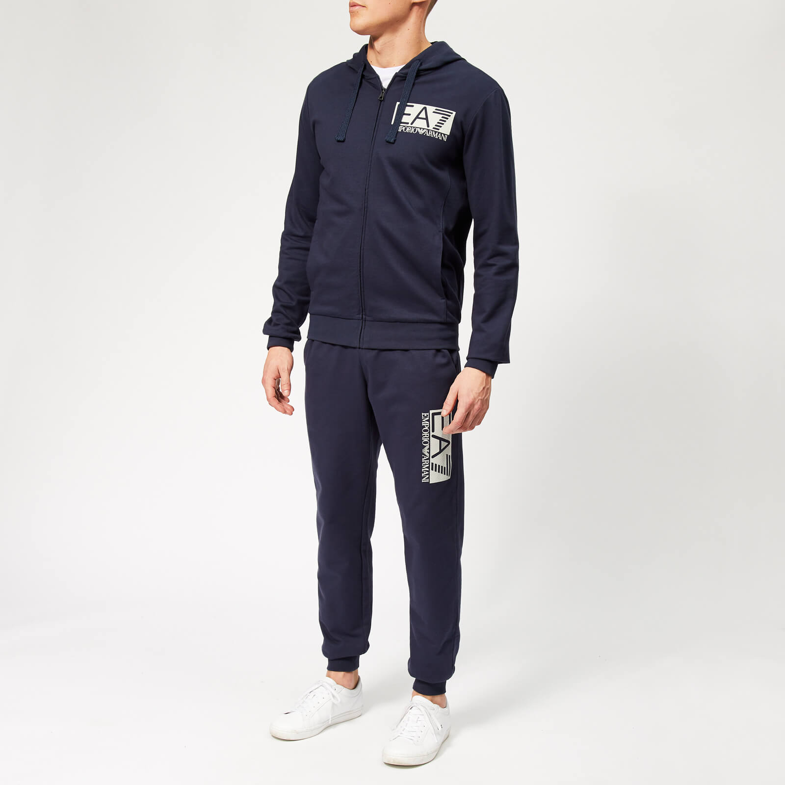 03d80293d0 Emporio Armani EA7 Men's Train Visibility Tracksuit - Navy Blue