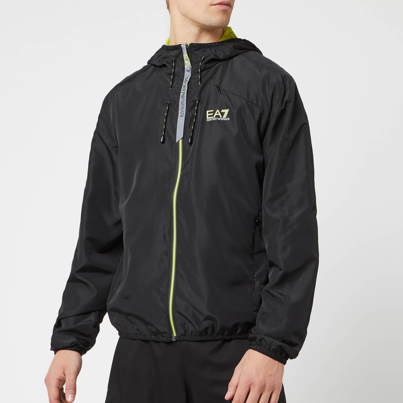 2698b218 Emporio Armani EA7 Men's Ventus 7 Top Performance Jacket - Black