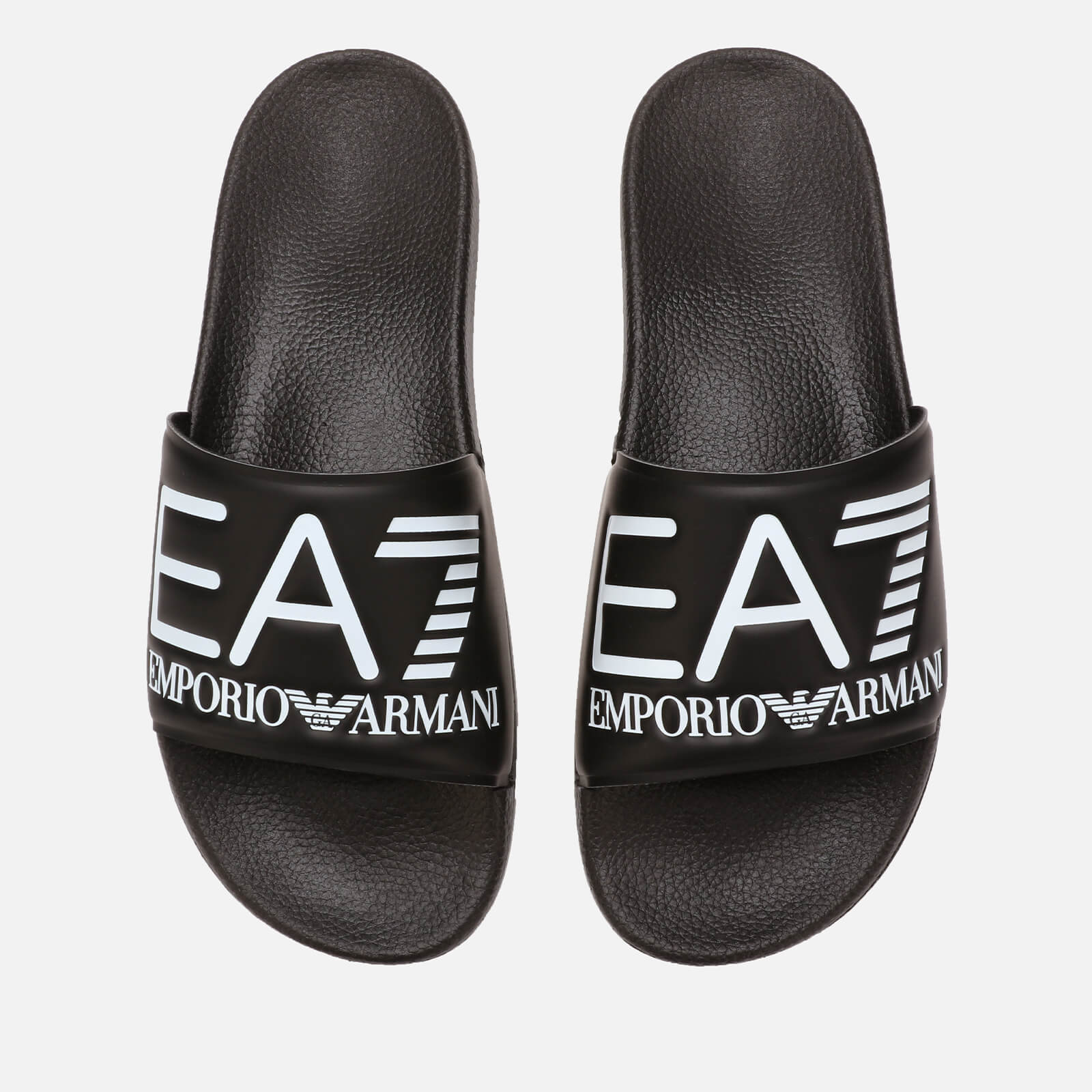 96c8c1301 Emporio Armani EA7 Sea World Slide Sandals - Black Mens Footwear ...