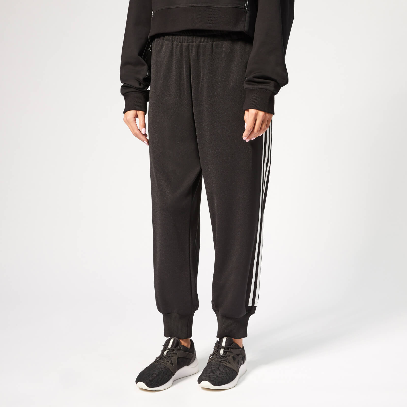 26437c362 Y-3 Women s 3 Stripe Track Pants - Black - Free UK Delivery over £50