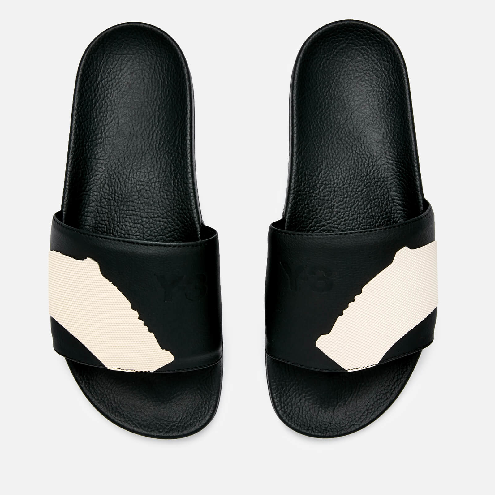 f27116255de7a Y-3 Men s Adilette Slide Sandals - Core Black Core Black - Free UK Delivery  over £50