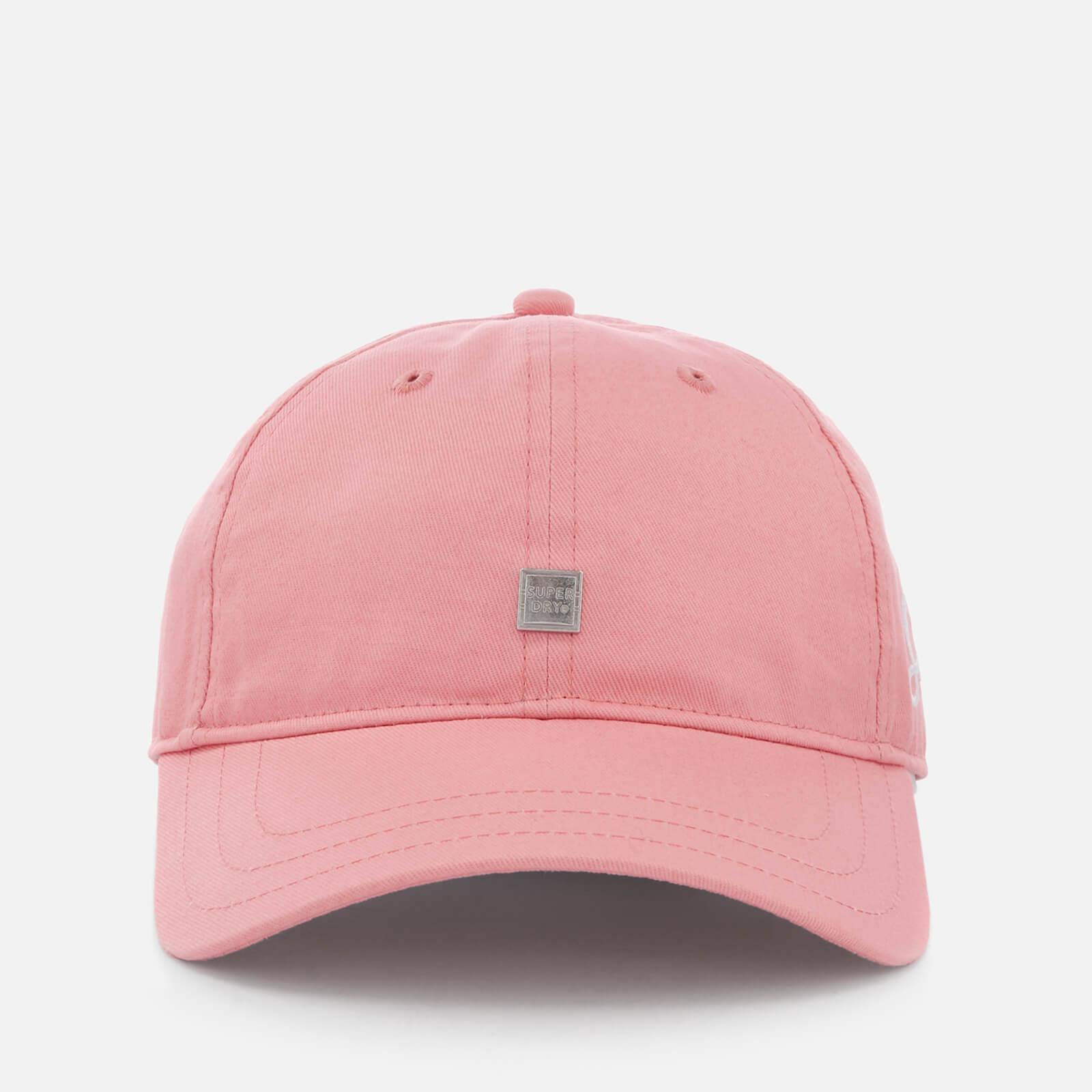 3f86668a4 Superdry Women's Script Cap - Pink Womens Accessories | TheHut.com