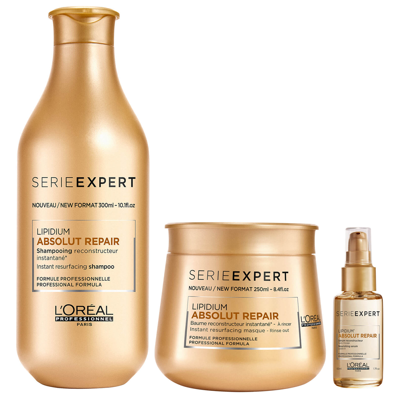 695e1a70a L'Oréal Professionnel Absolut Repair Lipidium Shampoo, Masque and ...