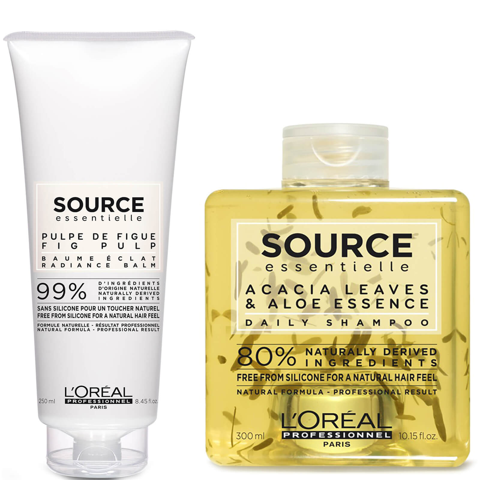 L Oréal Professionnel Source Essentielle Daily Shampoo and Hair Balm Duo  68b21becbbc