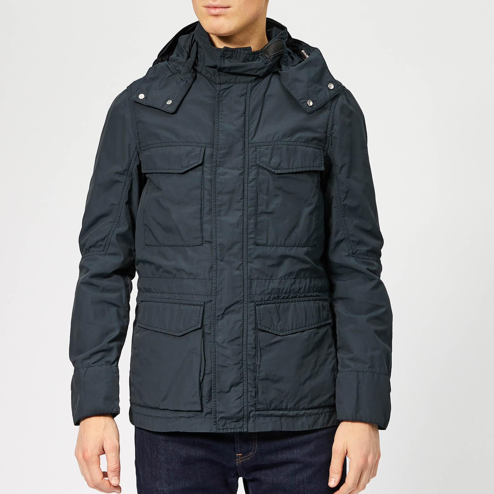 69661ae0b3d Woolrich Men's Utility Field Jacket - Melton Blue