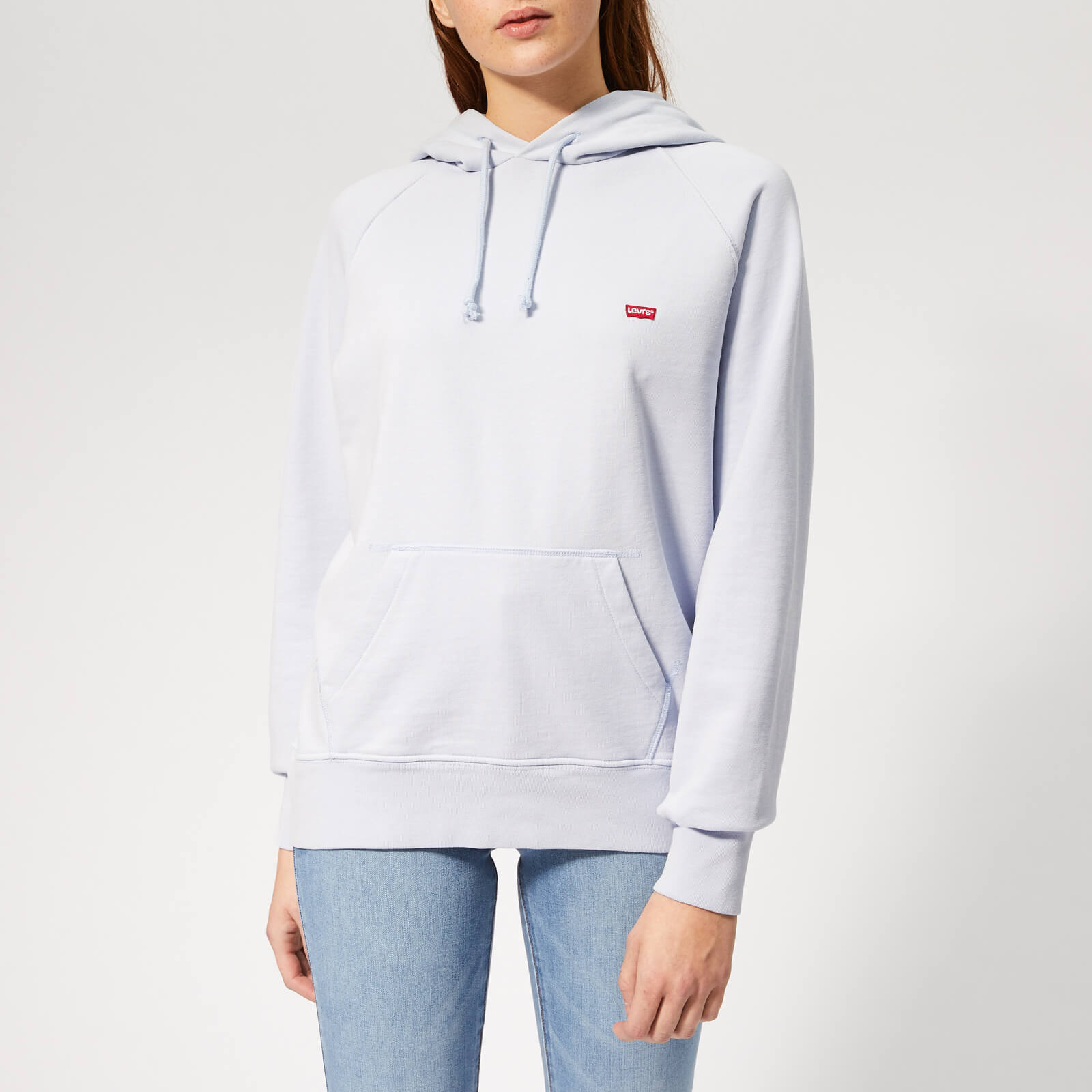 ce73066069457 Levi's Women's Graphic Sport Hoodie - Xenon Blue Womens Clothing ...