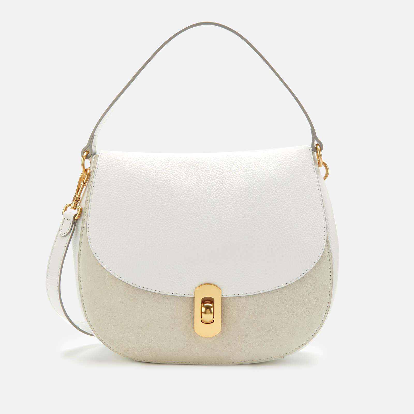 elegantes Aussehen Ausverkauf feine handwerkskunst Coccinelle Women's Zaniah Suede Bag - White