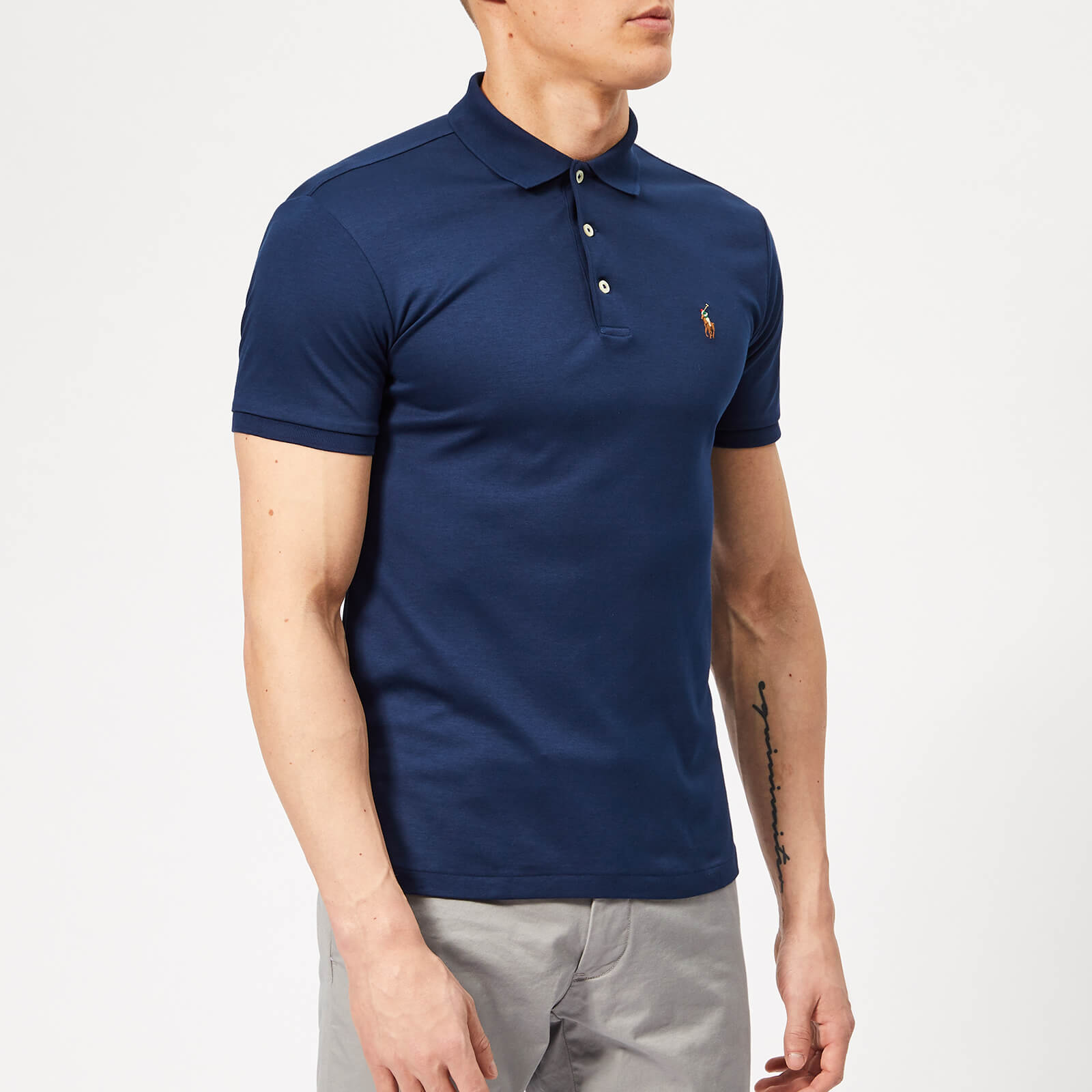 daf745f8 Polo Ralph Lauren Men's Pima Cotton Slim Fit Polo Shirt - Holiday Navy