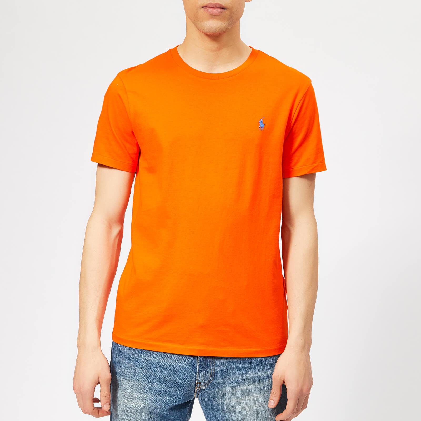 f0f0fbc3c9c Polo Ralph Lauren Men s Basic T-Shirt - Sailing Orange - Free UK Delivery  over £50