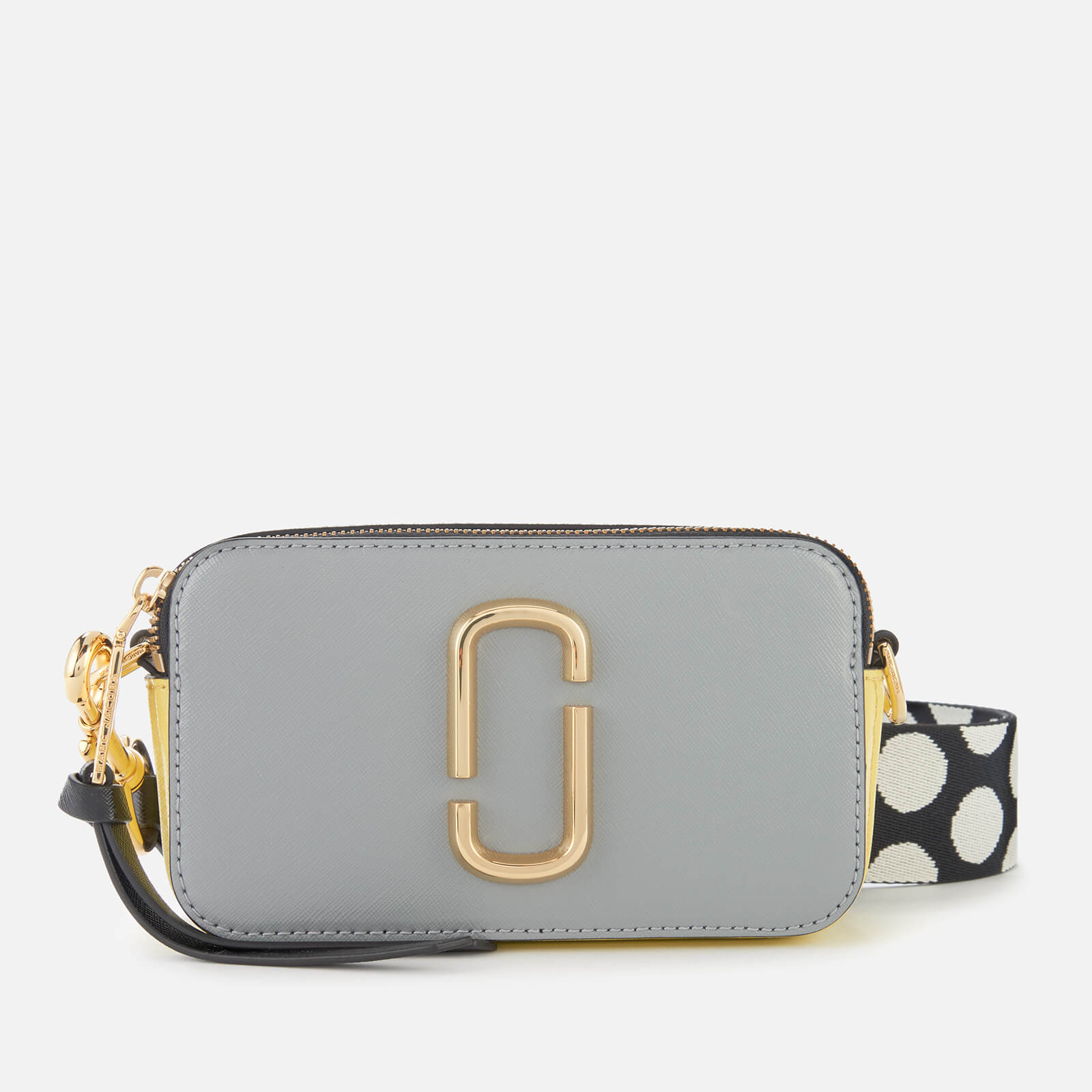 634645655481 Marc Jacobs Women's Snapshot Bag - Rock Grey Multi