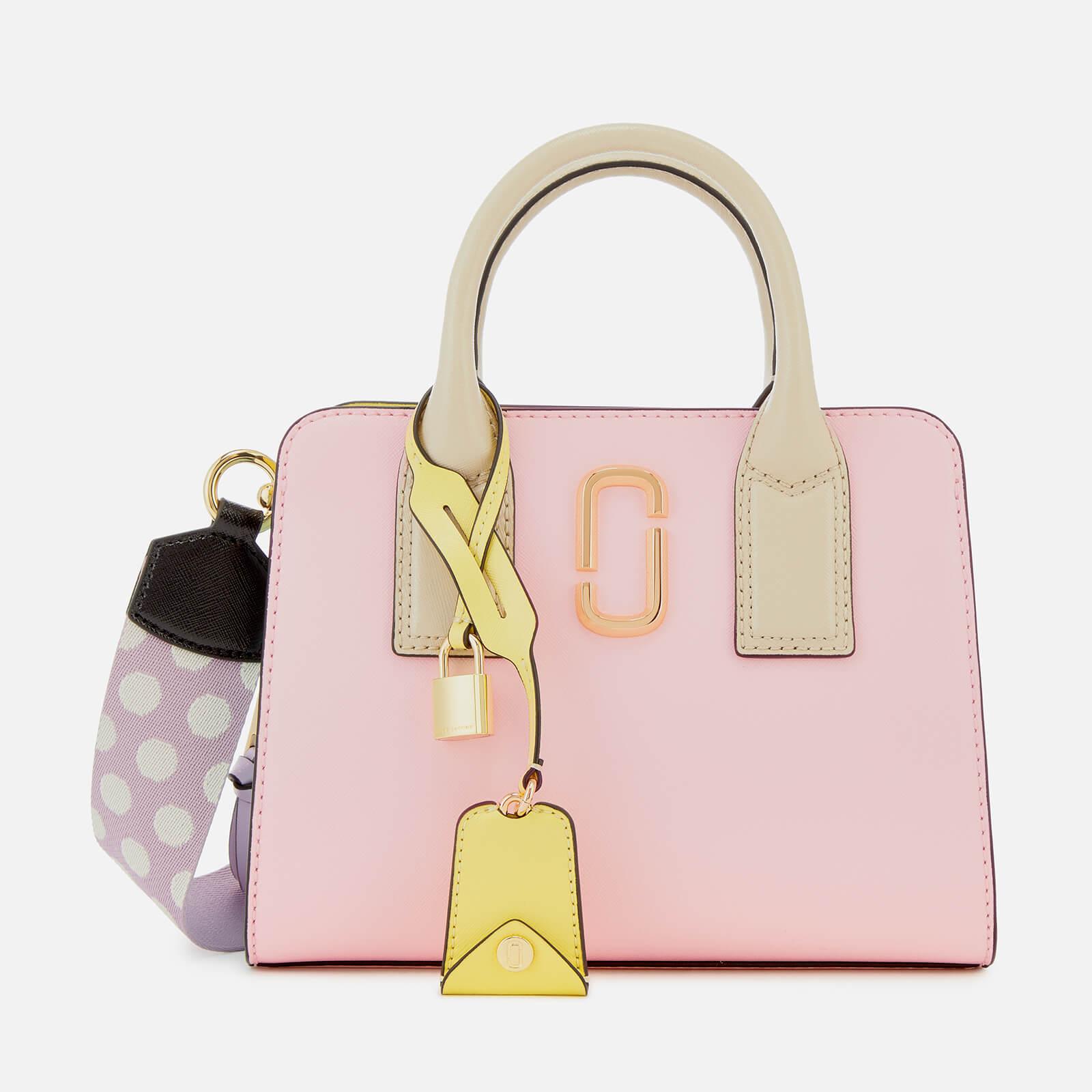 0de35a2442d Marc Jacobs Women's Little Big Shot Tote Bag - Blush Multi - Free UK  Delivery over £50