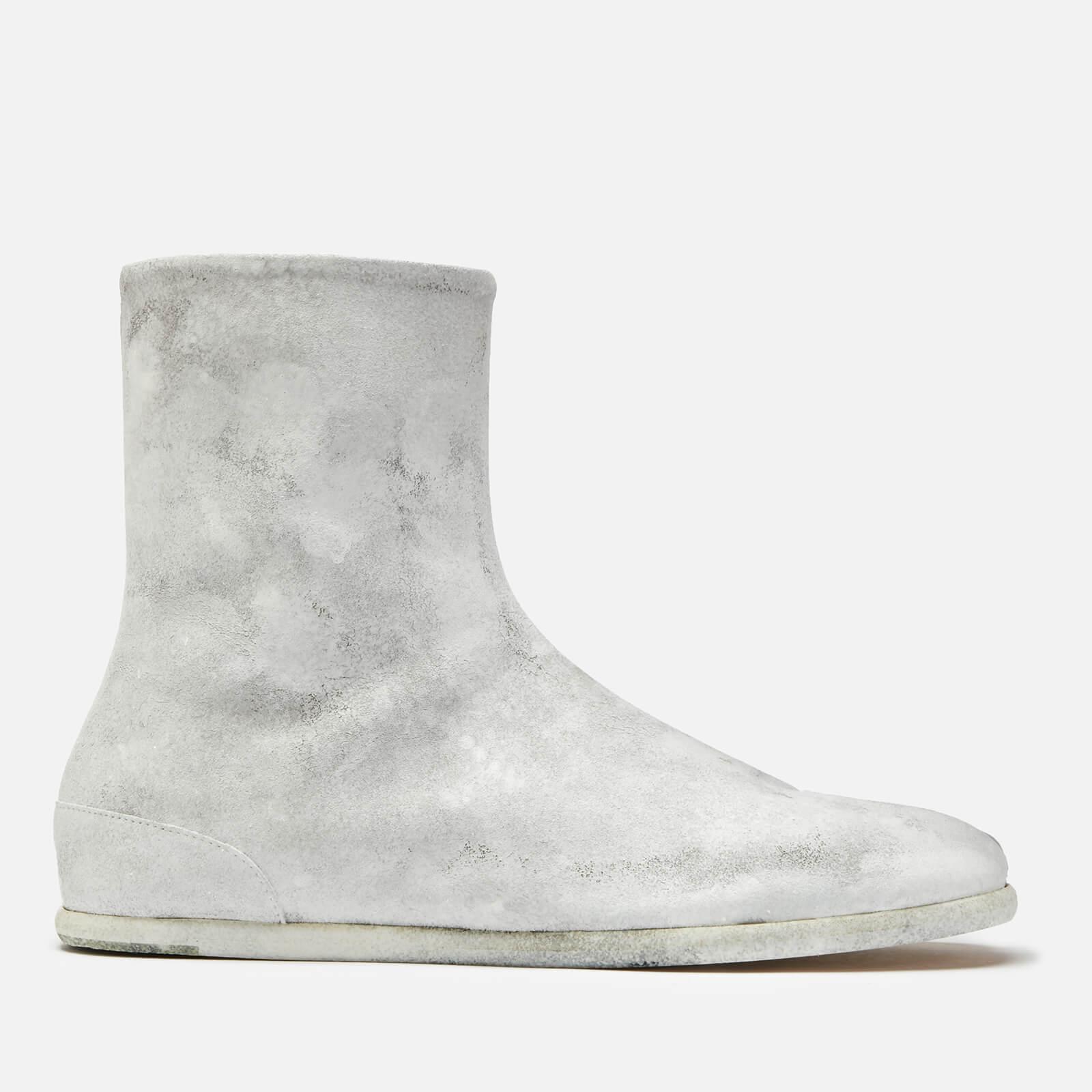 0b0b0eb13779e8 Maison Margiela Men's Tabi Ankle Flat Boots - White - Free UK Delivery over  £50