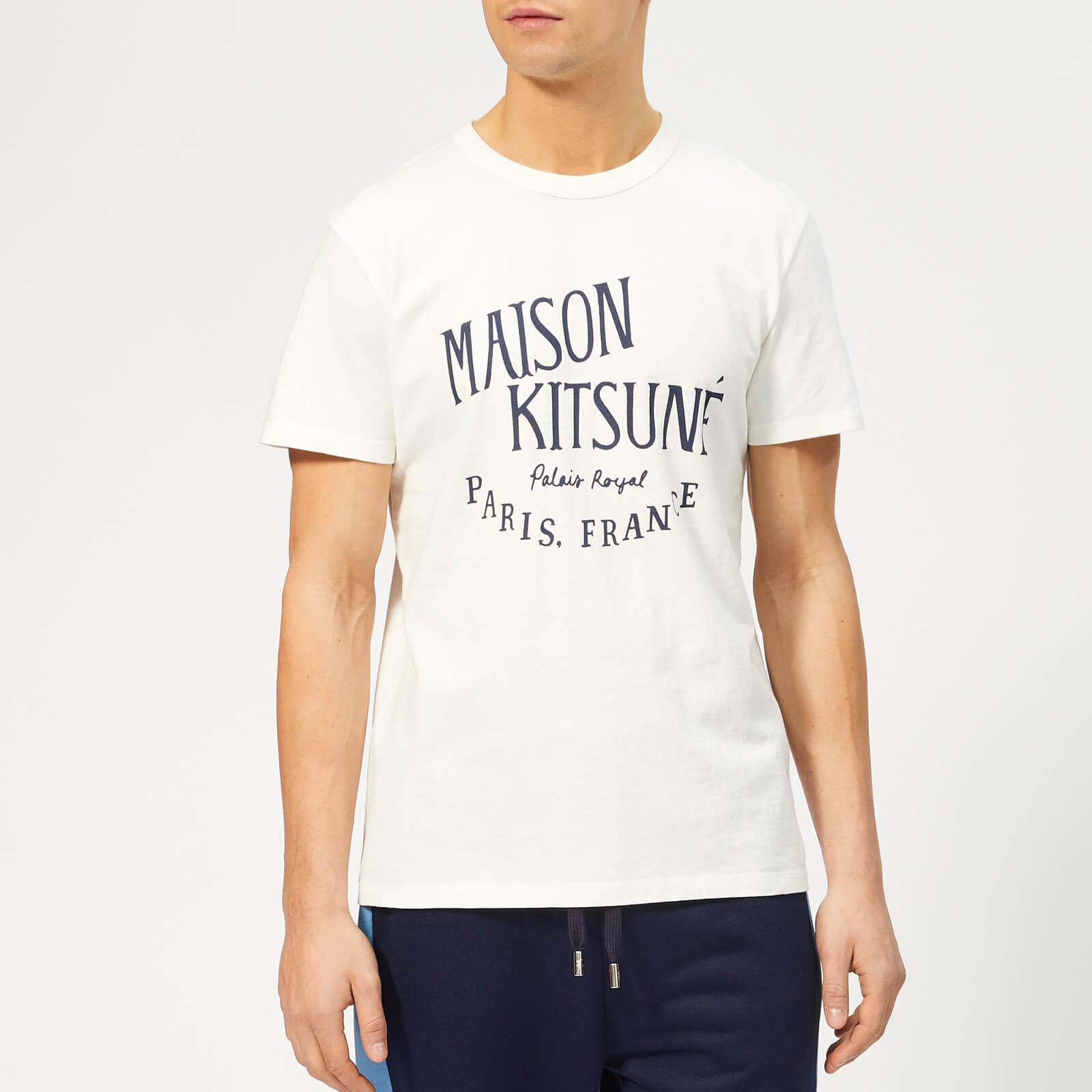 b204df860030 Maison Kitsuné Men s Palais Royal T-Shirt - White - Free UK Delivery over £ 50