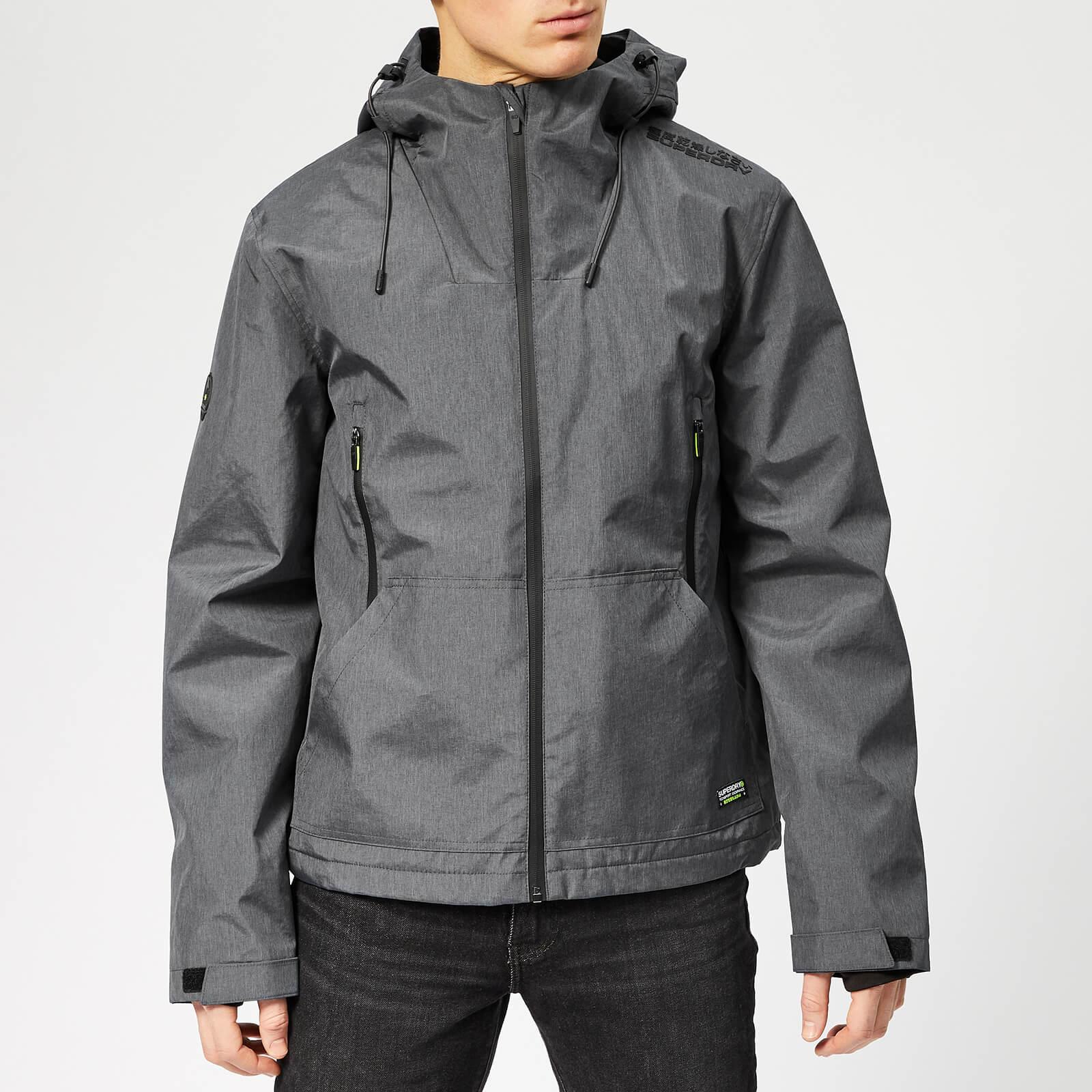 Superdry Men's Arctic Elite Windcheater Jacket Dark Charcoal