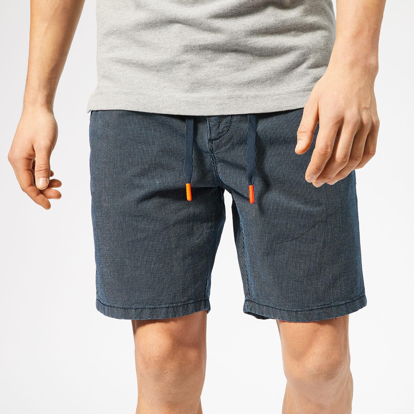 Superdry Shorts Herren SUNSCORCHED SHORT Brunswick Stripe