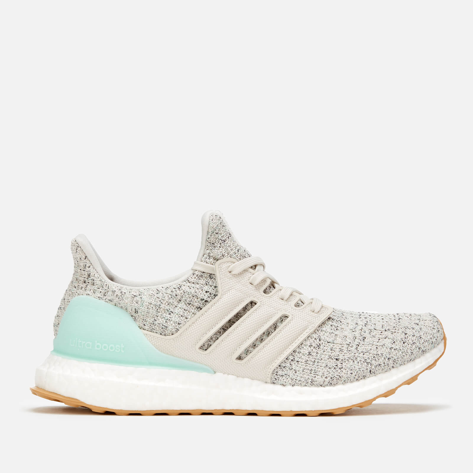1713e65717b adidas Women s Ultraboost Trainers - Clear Mint Raw White Carbon Sports    Leisure