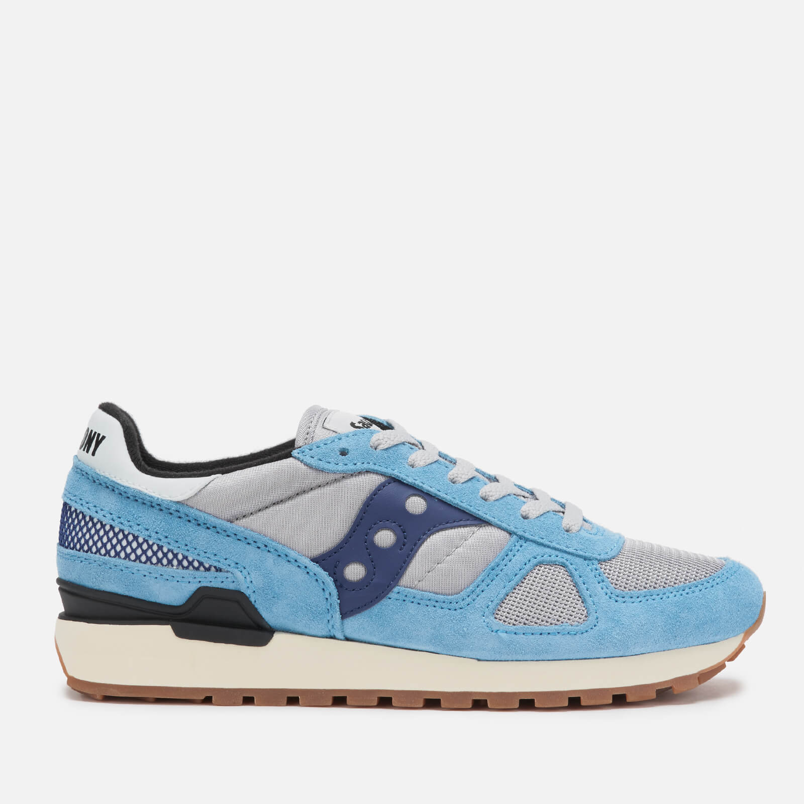 info for 19e57 6ceb9 Saucony Men s Shadow Original Vintage Trainers - Blue Grey Navy - Free UK  Delivery over £50