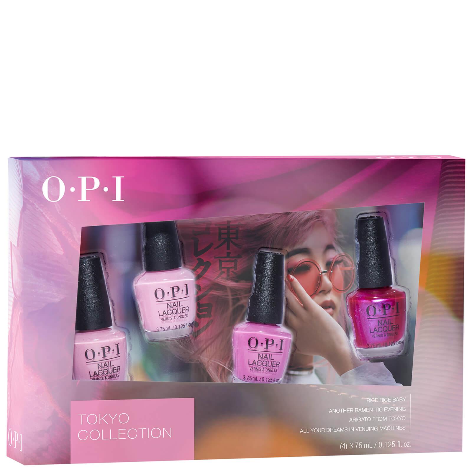 OPI Tokyo Collection Mini Nail Lacquer Set (Set of 4) | Free ...