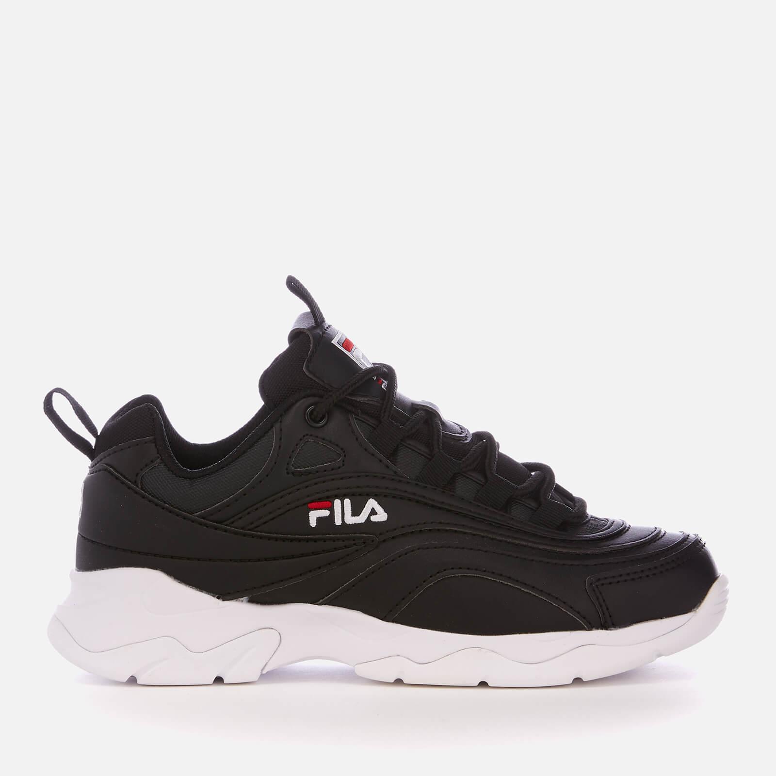 FILA Ray Trainers - Black/FILA Red