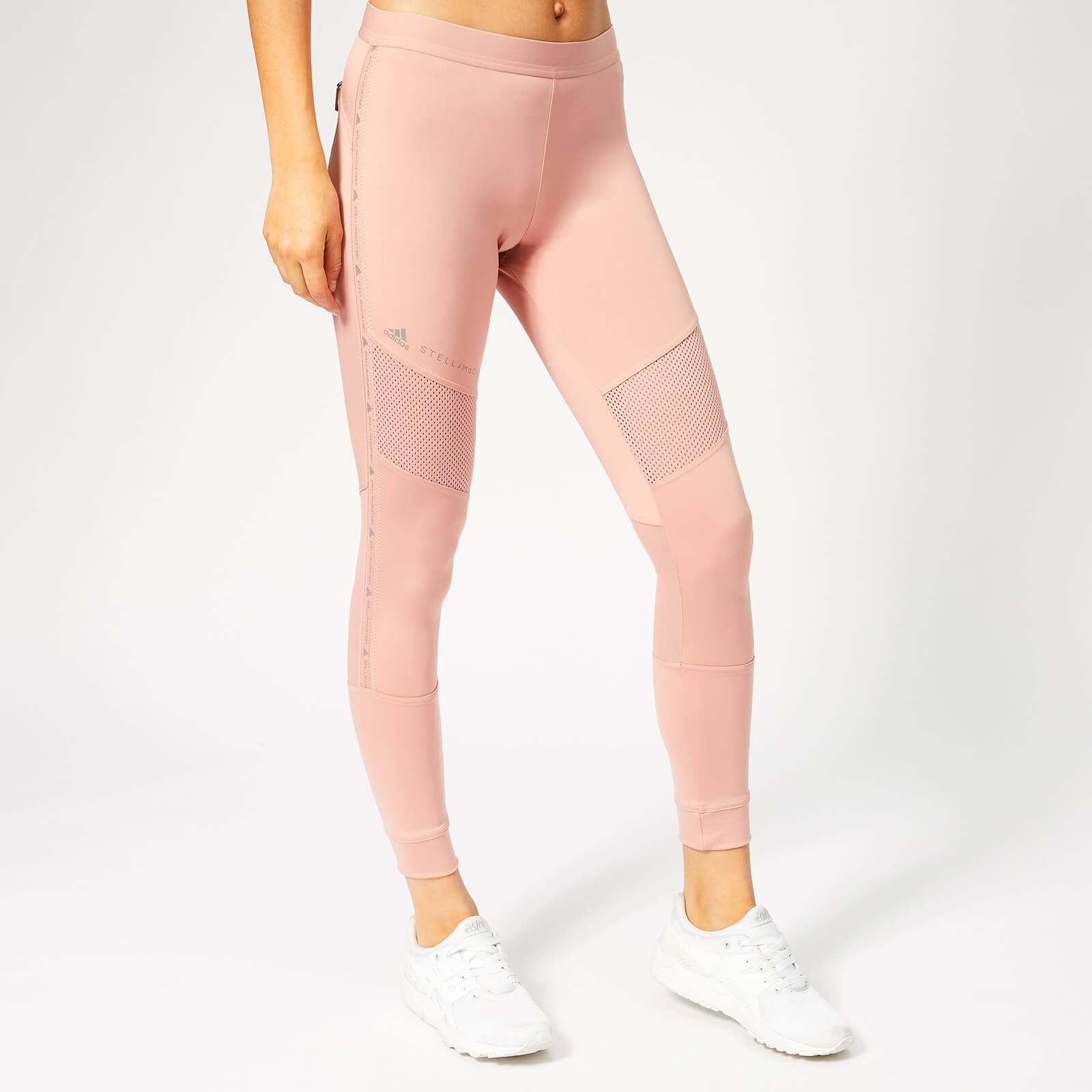 695b96333d6c8 adidas by Stella McCartney Women's Essential Tights - Band Aid Pink - Free  UK Delivery over £50