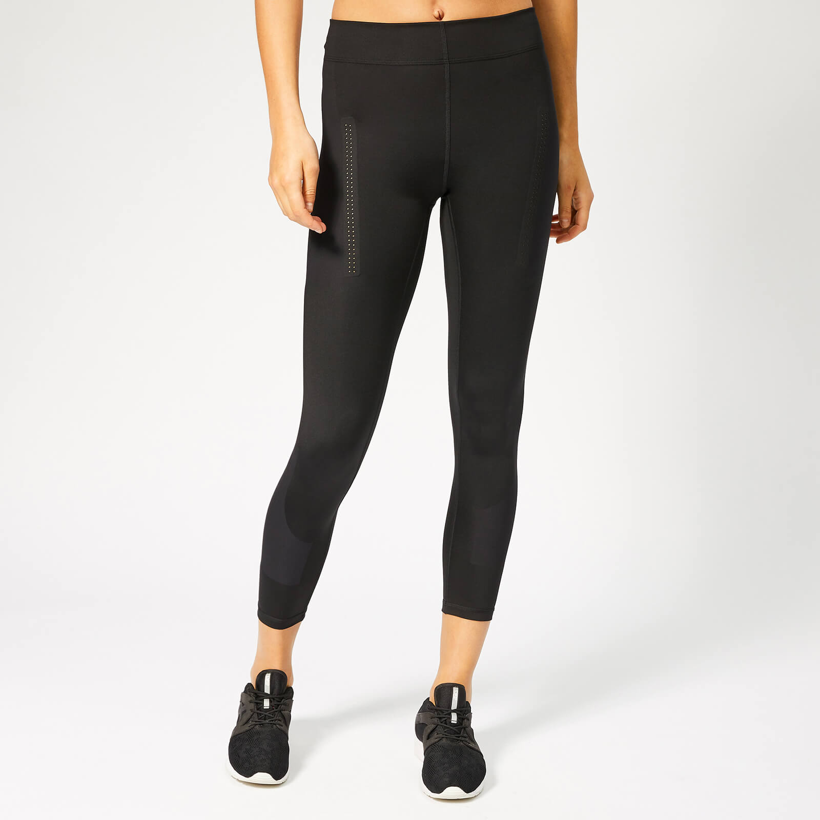 14f05a9482e2b4 adidas by Stella McCartney Women's Train Tights - Black - Free UK Delivery  over £50