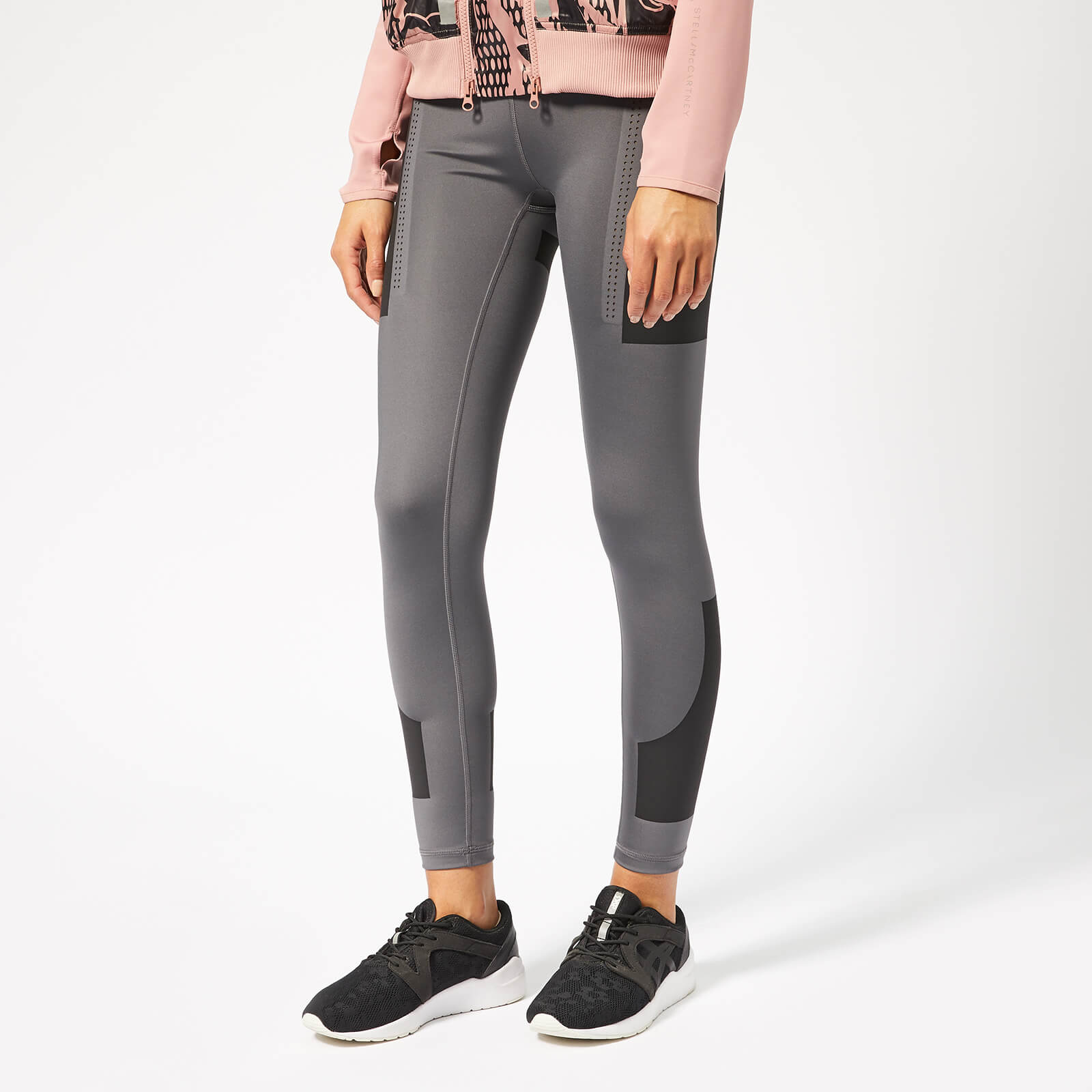 29a108ca22c33a adidas by Stella McCartney Women's Train Tights - Granite - Free UK  Delivery over £50