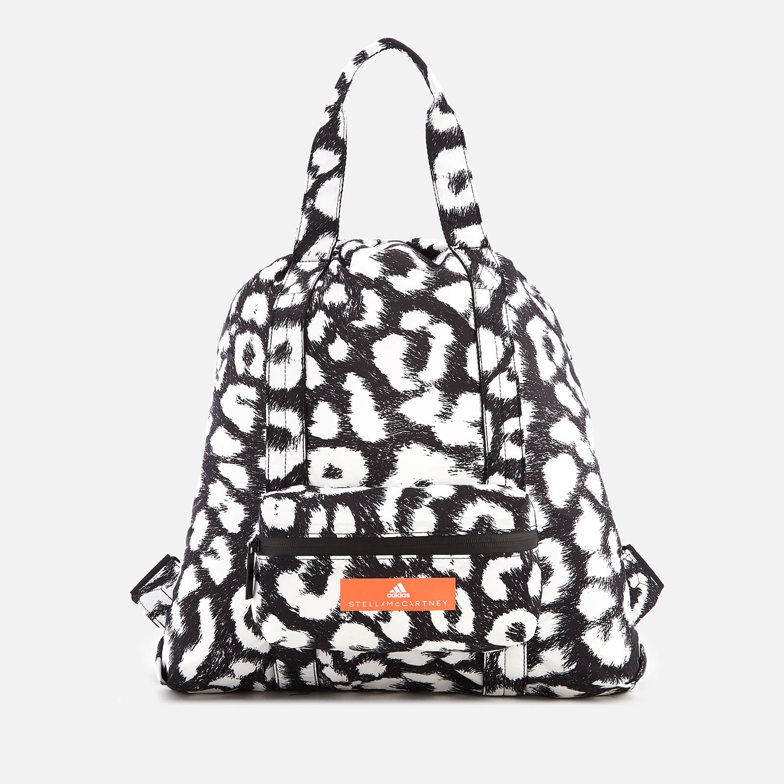dd2623ec92793 adidas by Stella McCartney Women s Gym Sack Bag - Black White - Free UK  Delivery over £50