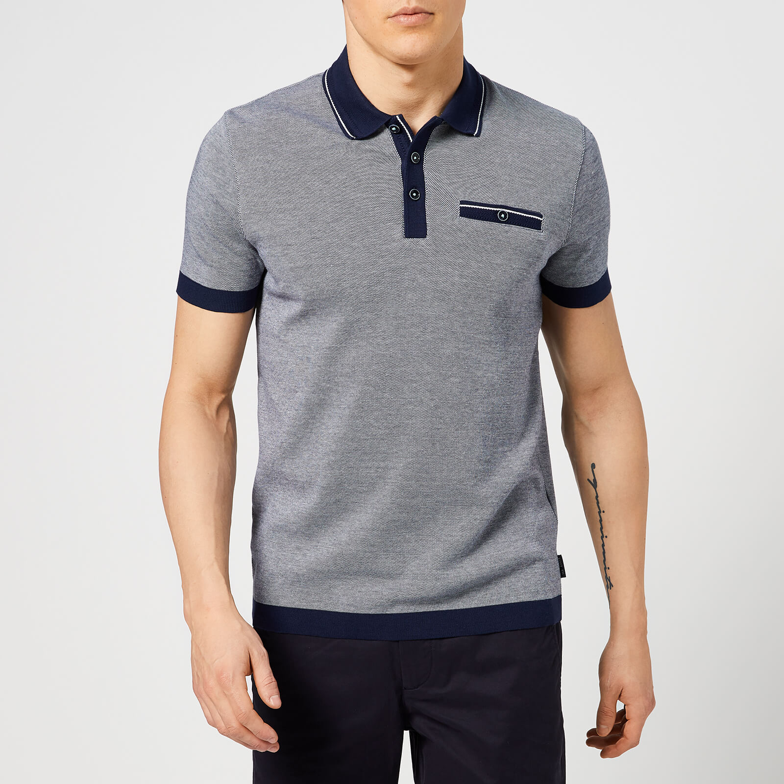 4a4b78515 Ted Baker Men s Troop Polo Shirt - Navy Clothing