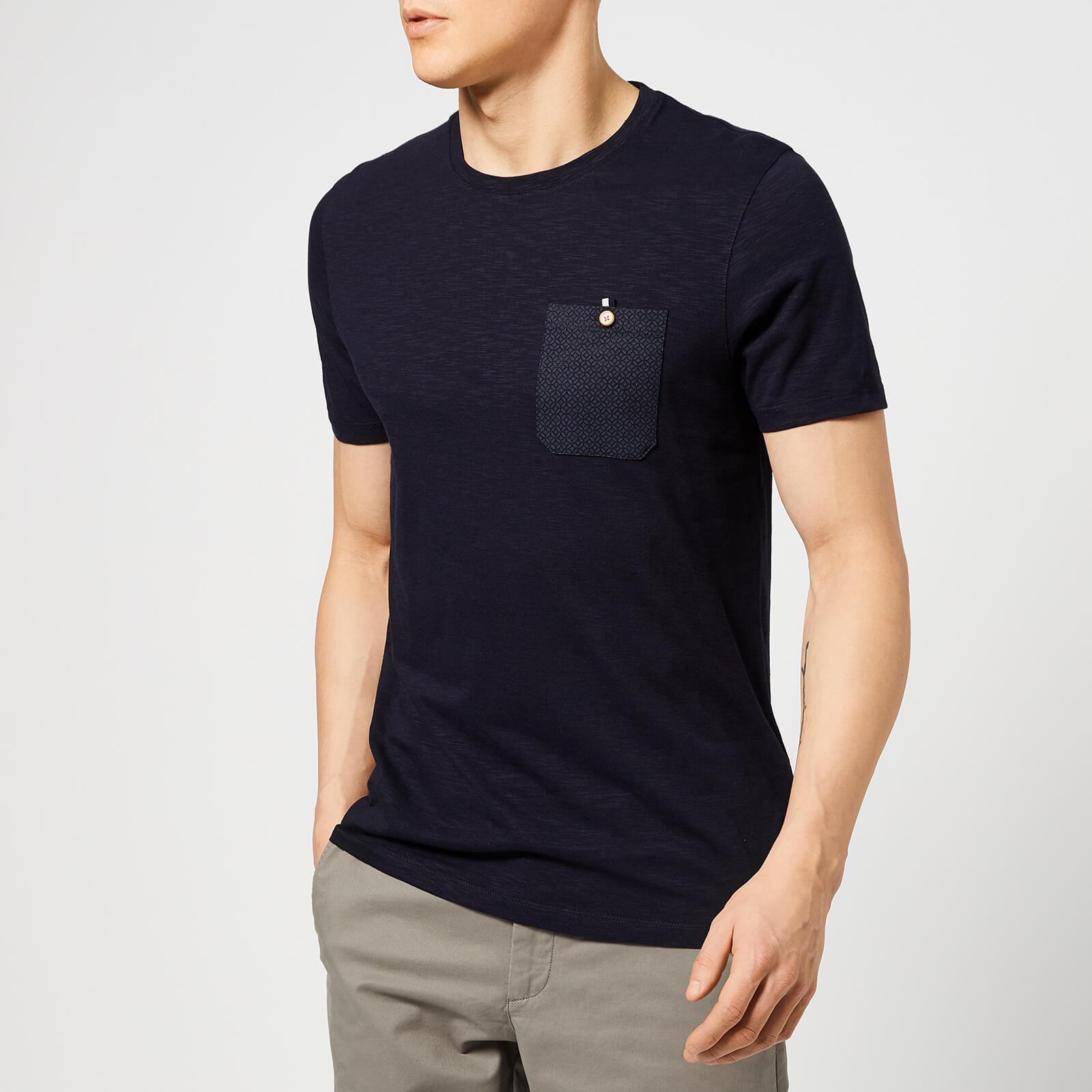3ed80535 Ted Baker Men's Web T-Shirt - Navy Clothing | TheHut.com