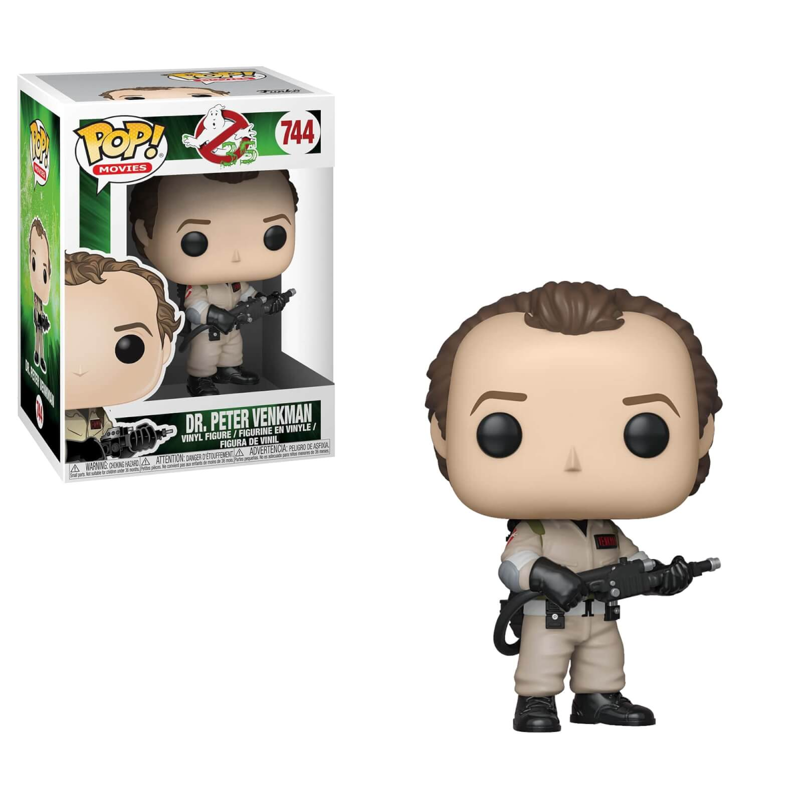 Peter Venkman Brand New in Box Funko-Pop Movies Ghostbusters-Dr