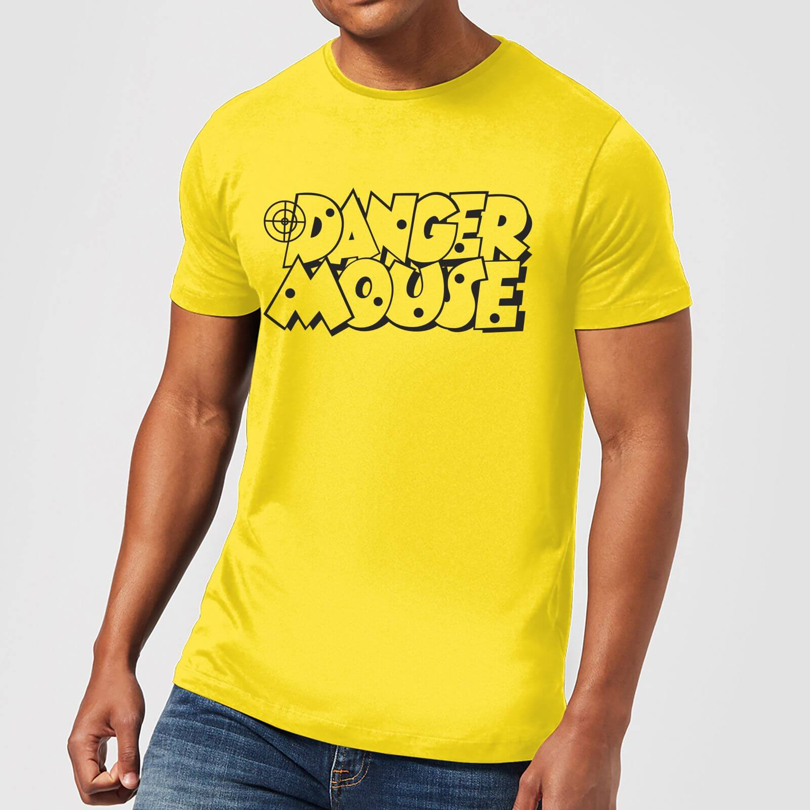 73fc45cbcf Danger Mouse Target Men s T-Shirt - Yellow