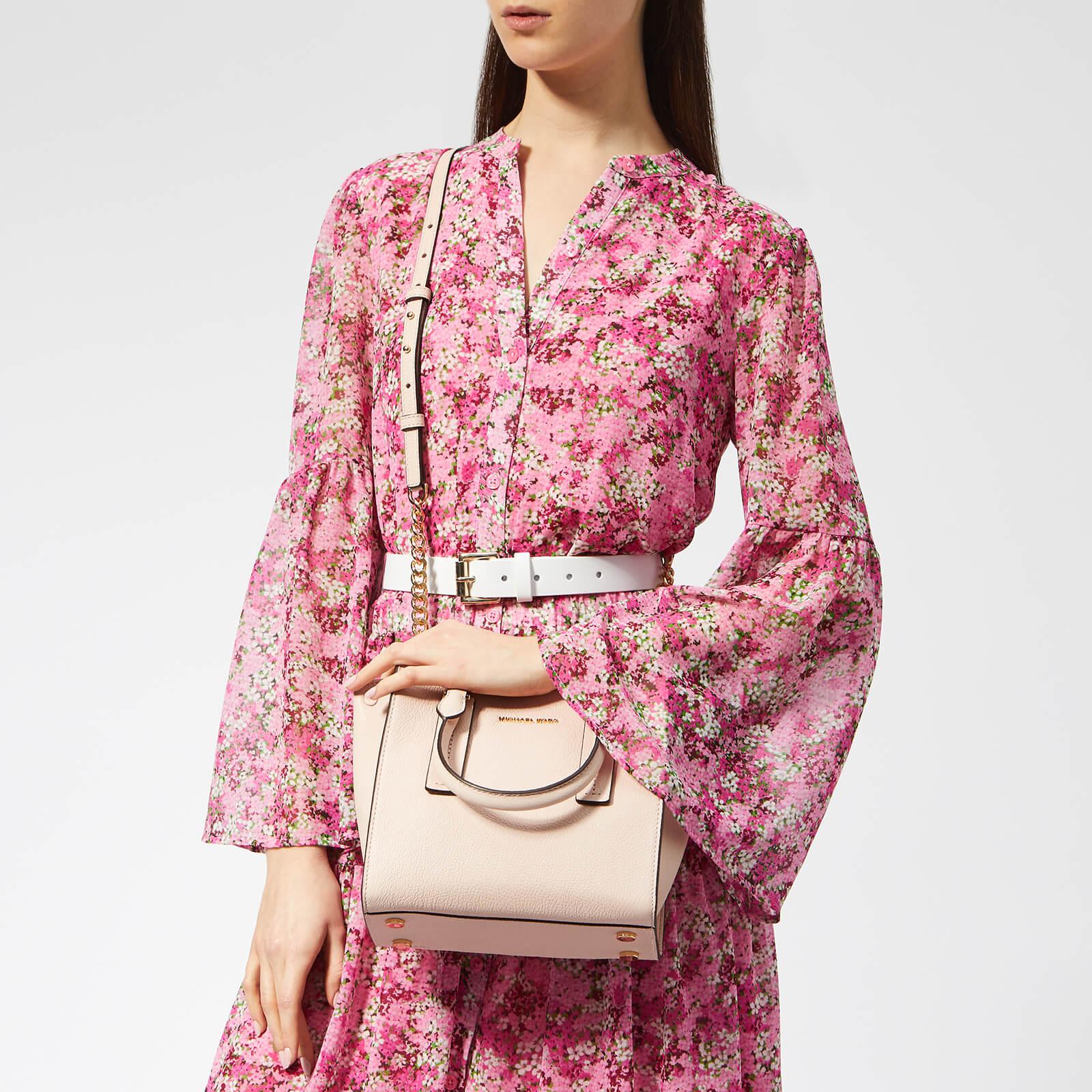MICHAEL MICHAEL KORS Women's Alessa Medium Messenger Bag - Soft Pink