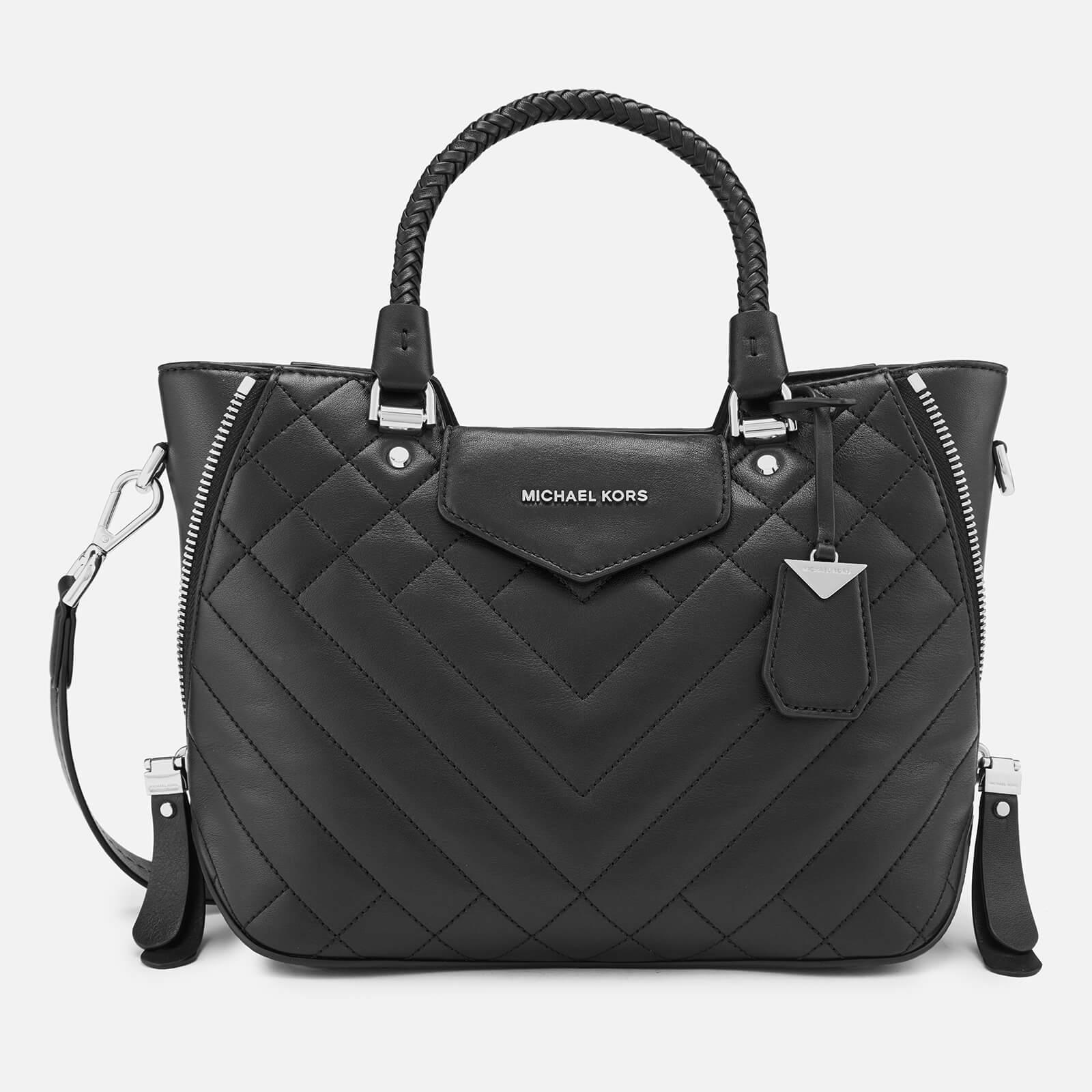 28cee3a98d4c51 MICHAEL MICHAEL KORS Women's Blakely Medium Messenger Bag - Black - Free UK  Delivery over £50